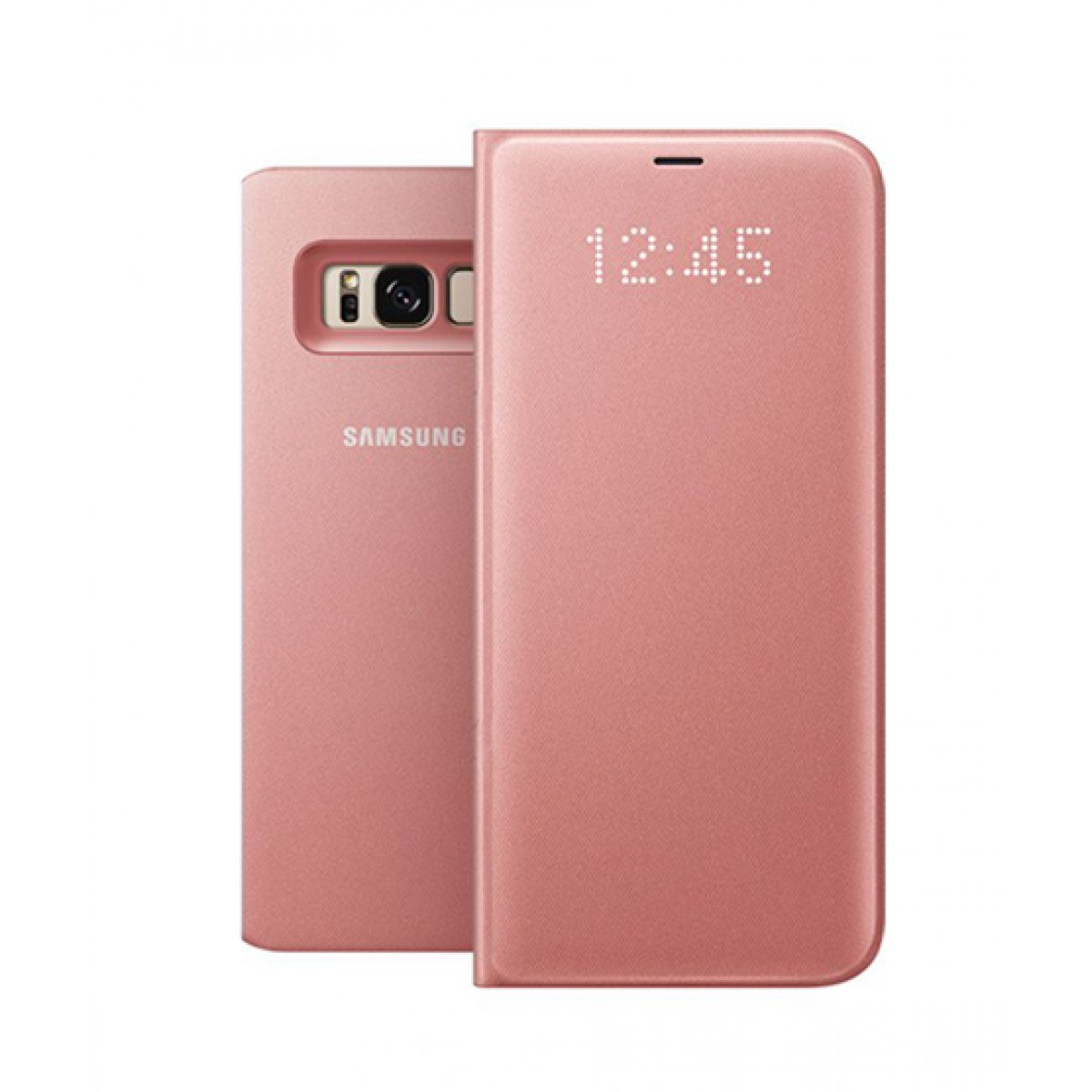 buy online e41a4 10492 Samsung LED View Pink Cover For Galaxy S8+