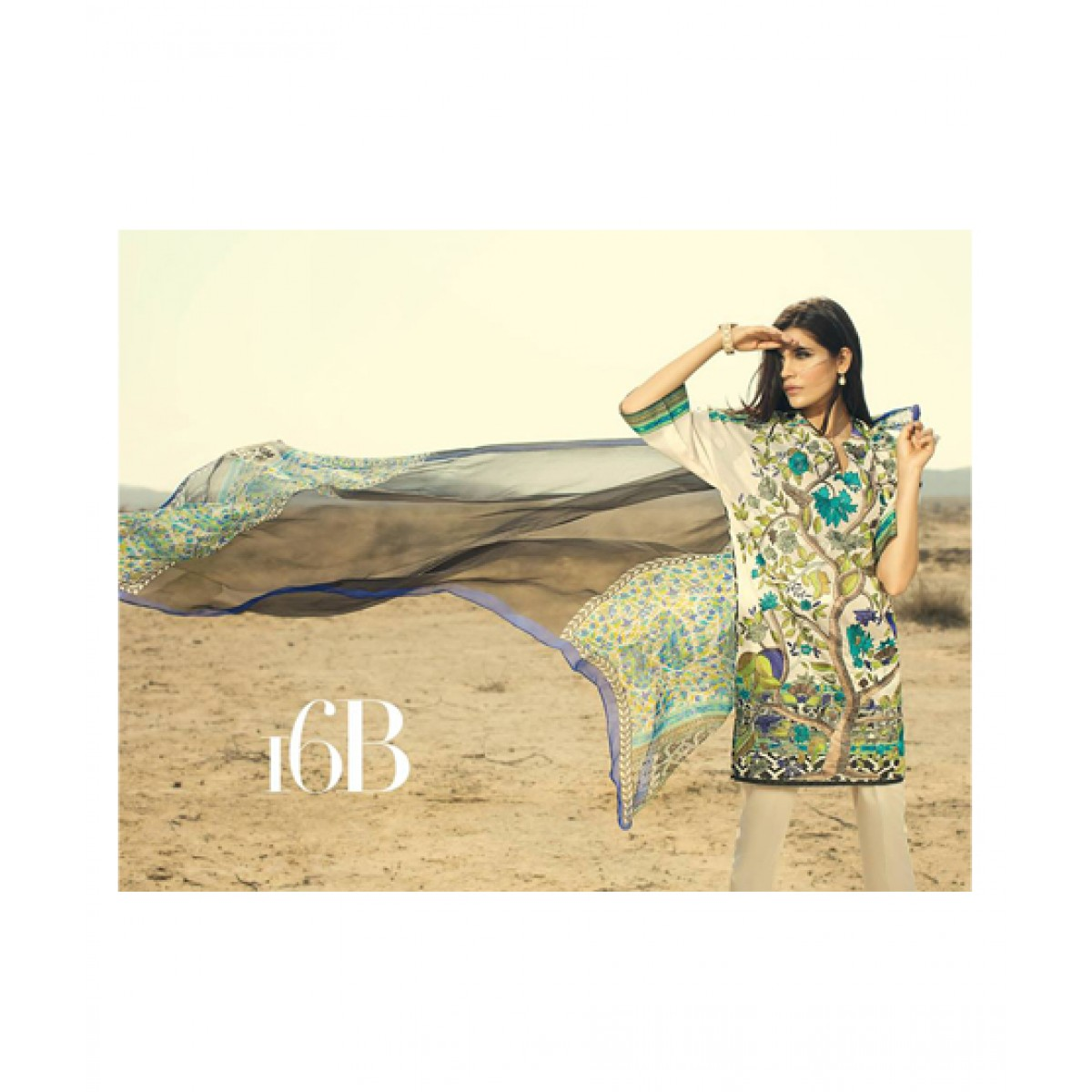24c8a672f4 Sana Safinaz Collection 2016 Price in Pakistan | Buy Sana Safinaz Spring Summer  Lawn (16B) | iShopping.pk