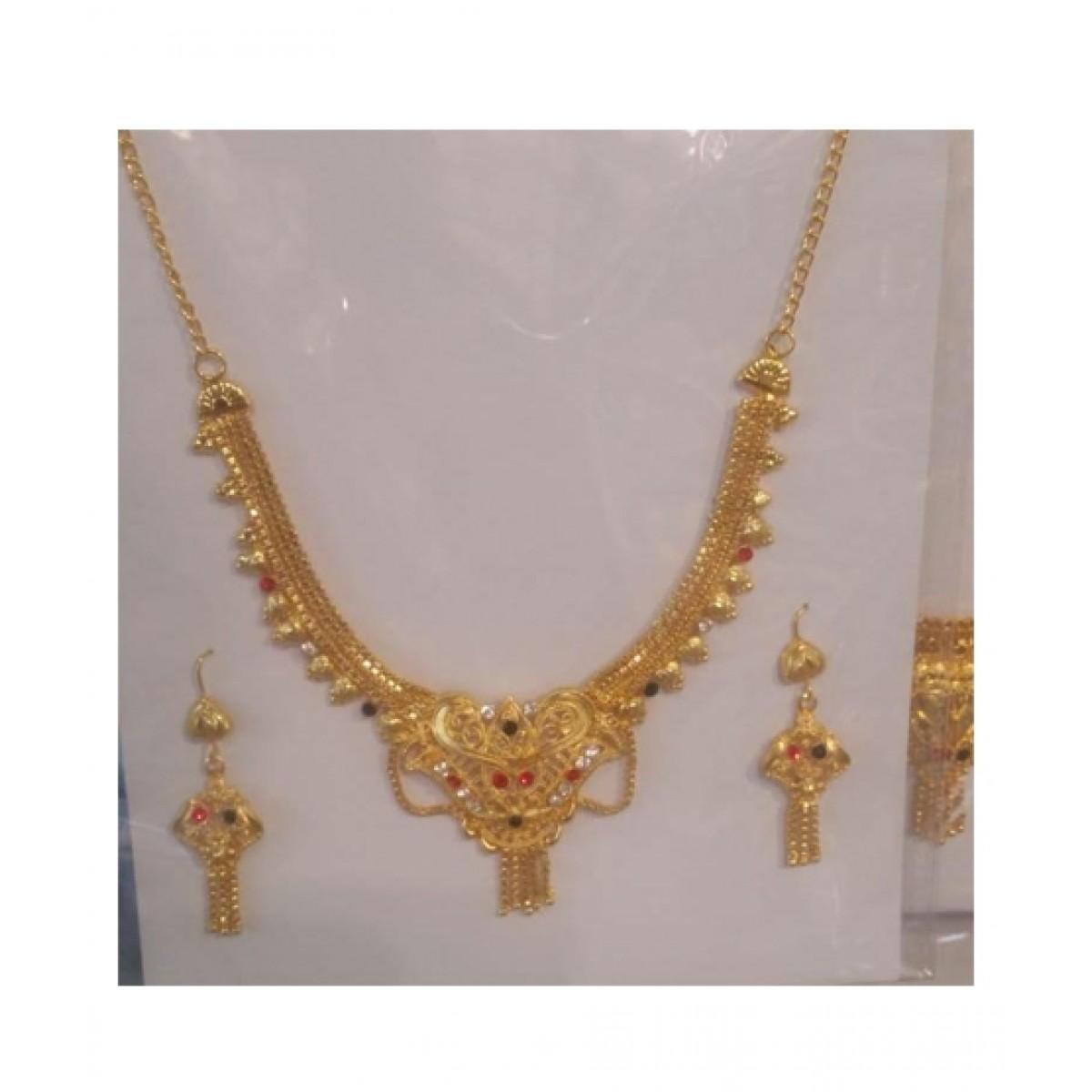 Sasta Bazaar Golden Casting Jewellery Set Price In Pakistan Buy