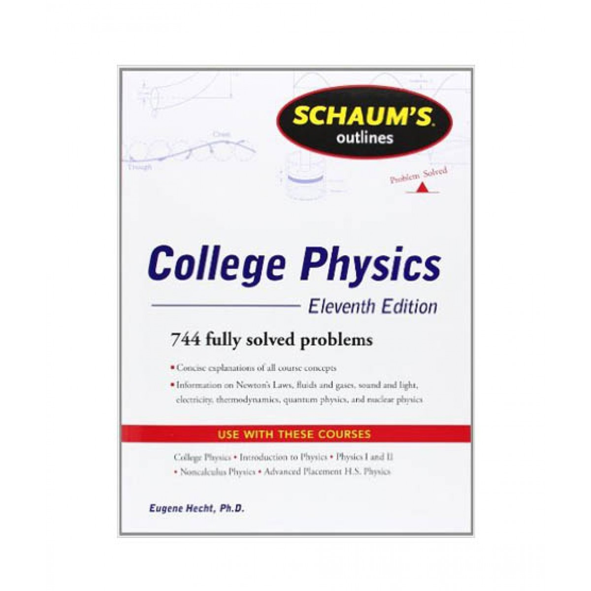 Schaum's Outline of College Physics Book 11th Edition