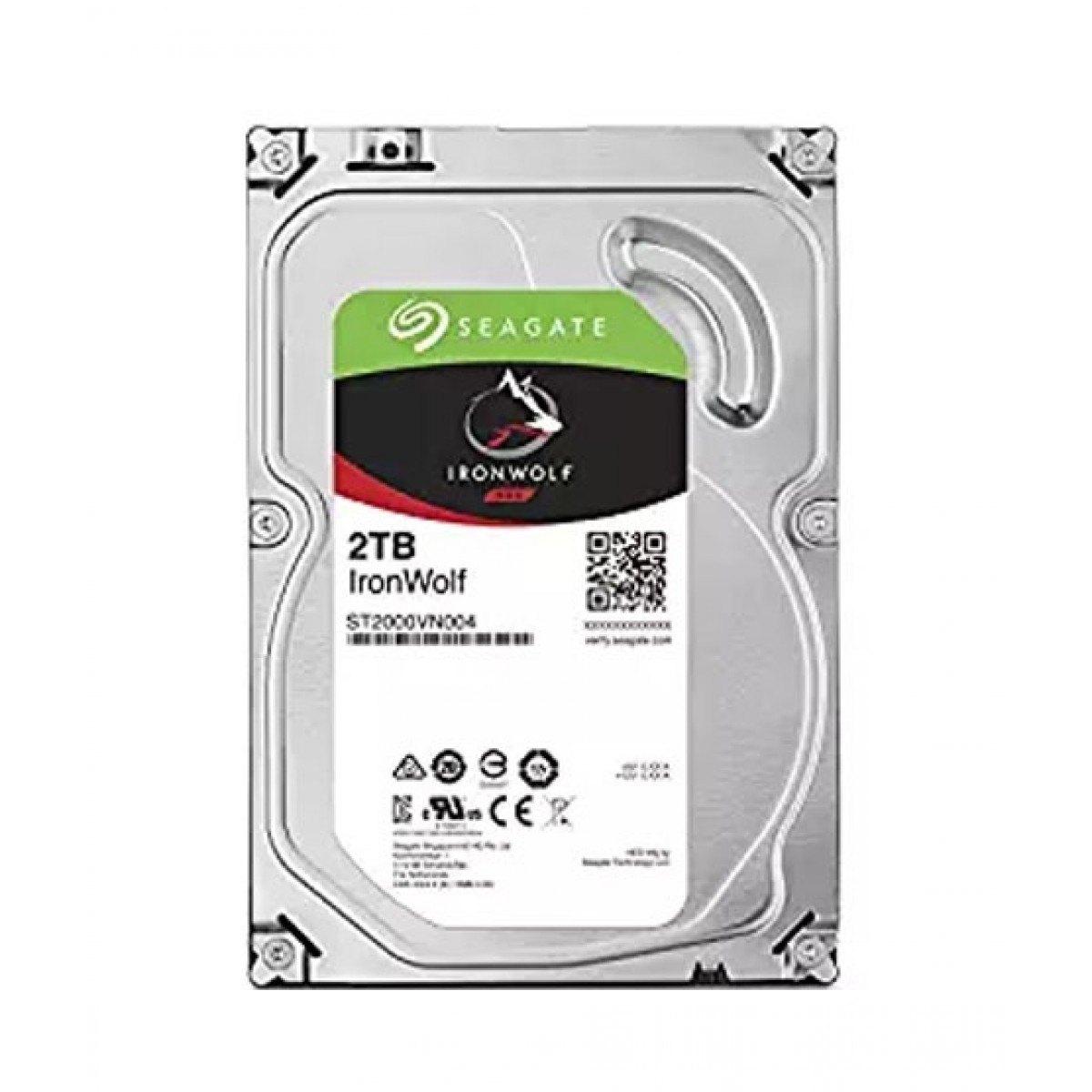 Seagate Iron Wolf 2TB 7200RPM Hard Drive (ST2000VN004)