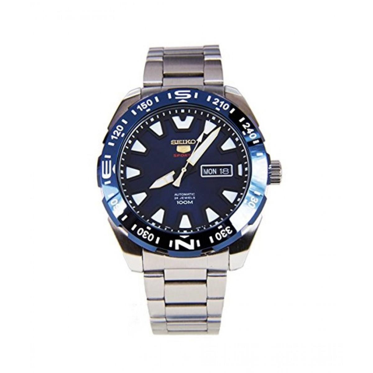 Seiko 5 Sports Men's Watch Price in Pakistan | Buy Seiko Men's Watch Silver  (SRP747) | iShopping.pk