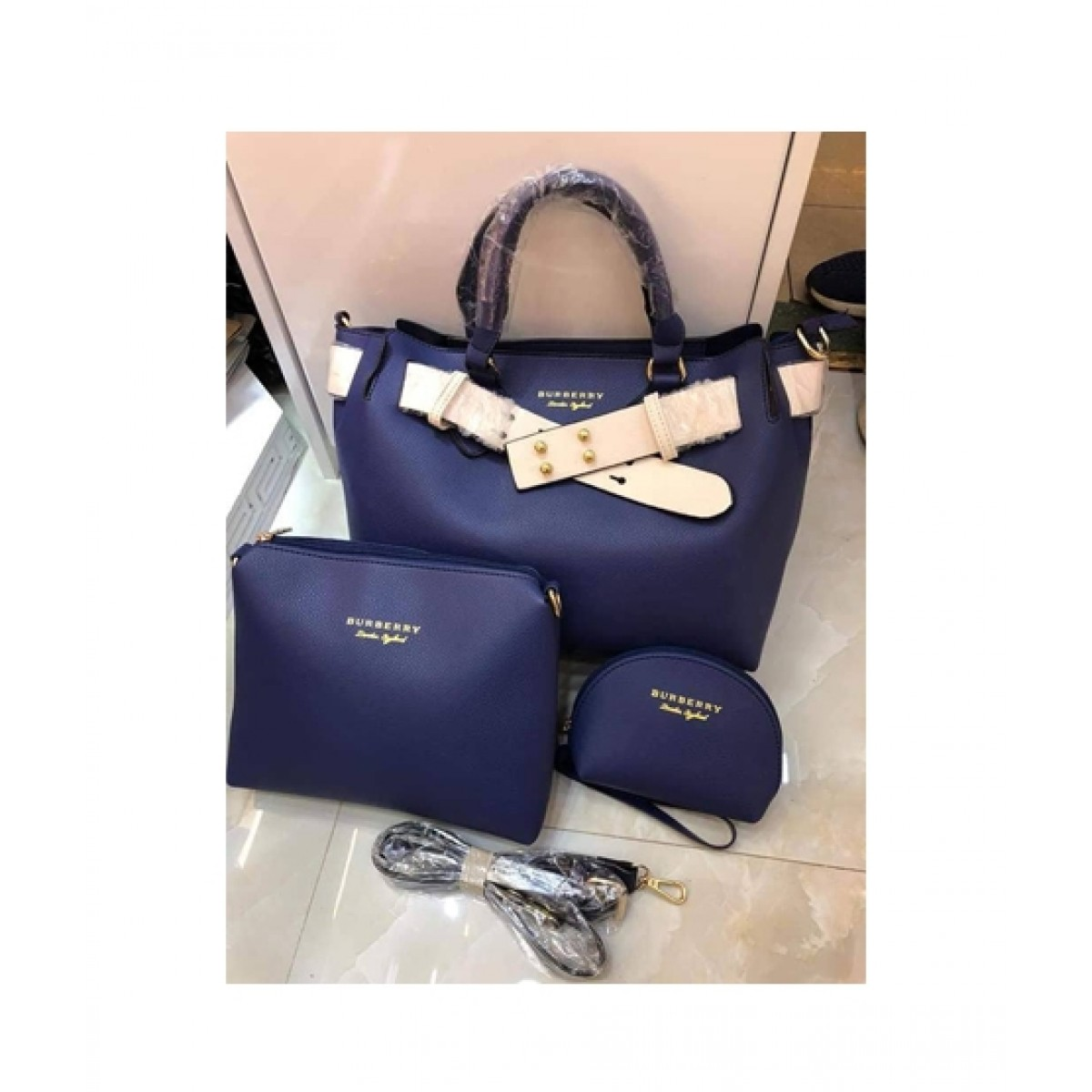 9280d010332b Shoppinggaardi Burberry bags Women Navy Blue (SG-AK-03) Price in Pakistan