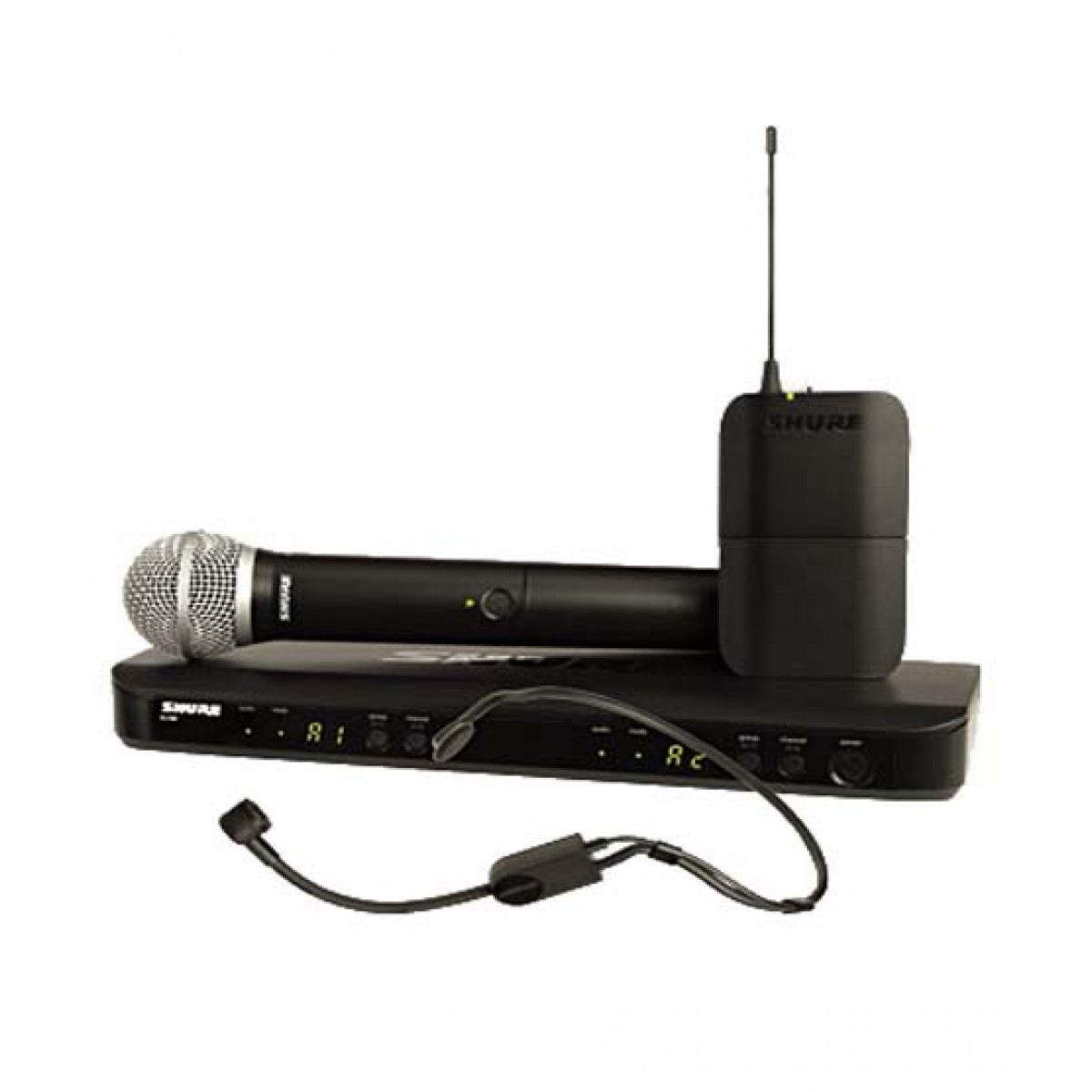 Shure Dual Channel Combo Wireless System (BLX1288/P31)