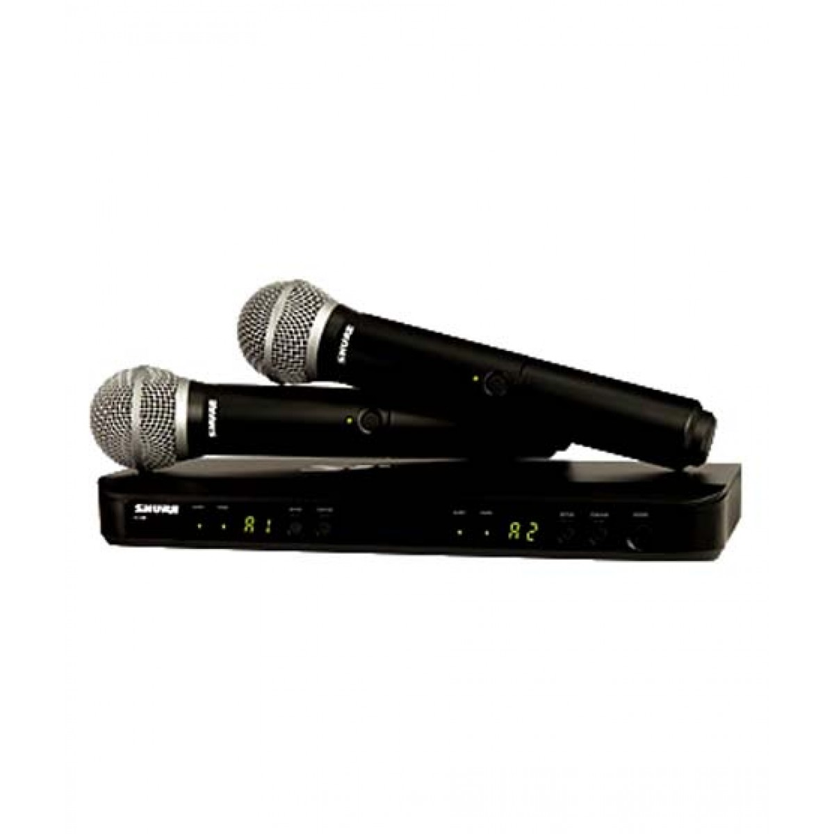 Shure Dual Channel Handheld Wireless System (BLX288/PG58)