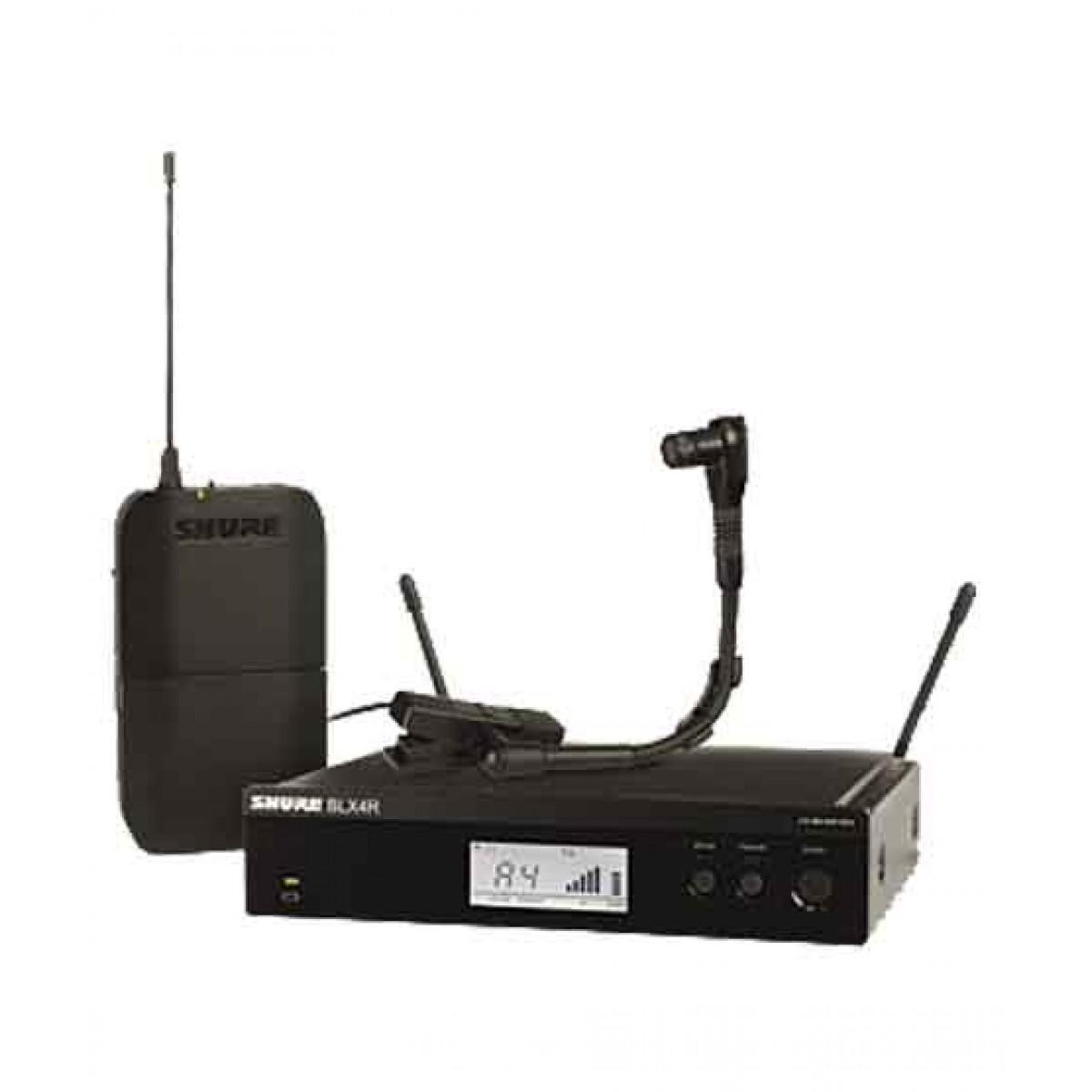 Shure Instrument Wireless System (BLX14R/B98)