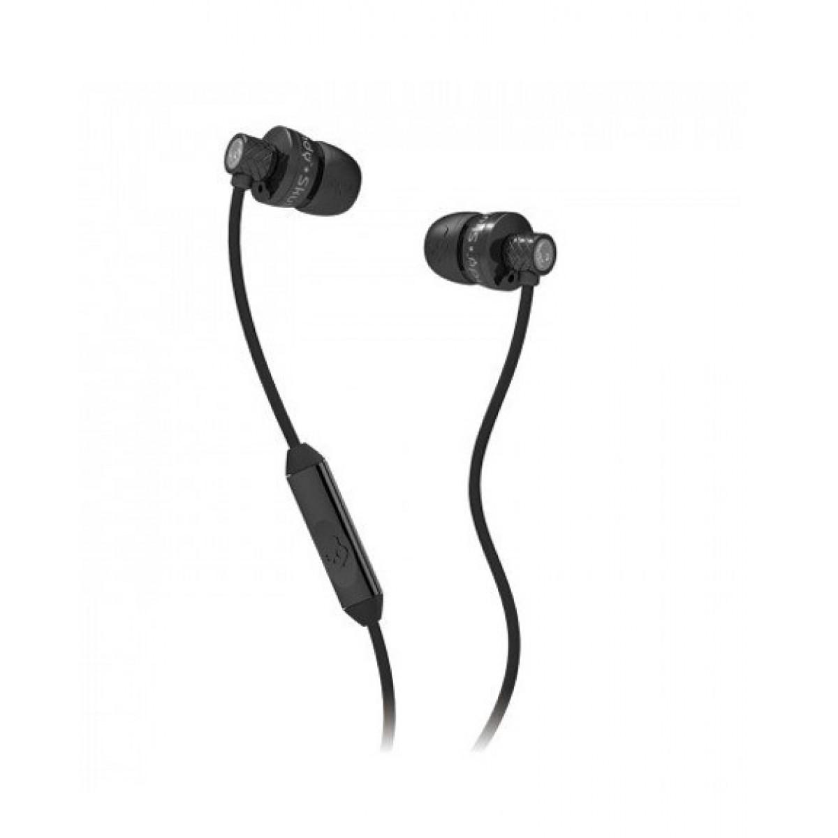 Skullcandy Titan In-Ear Headphones with Mic Black (S2TTDY-033)