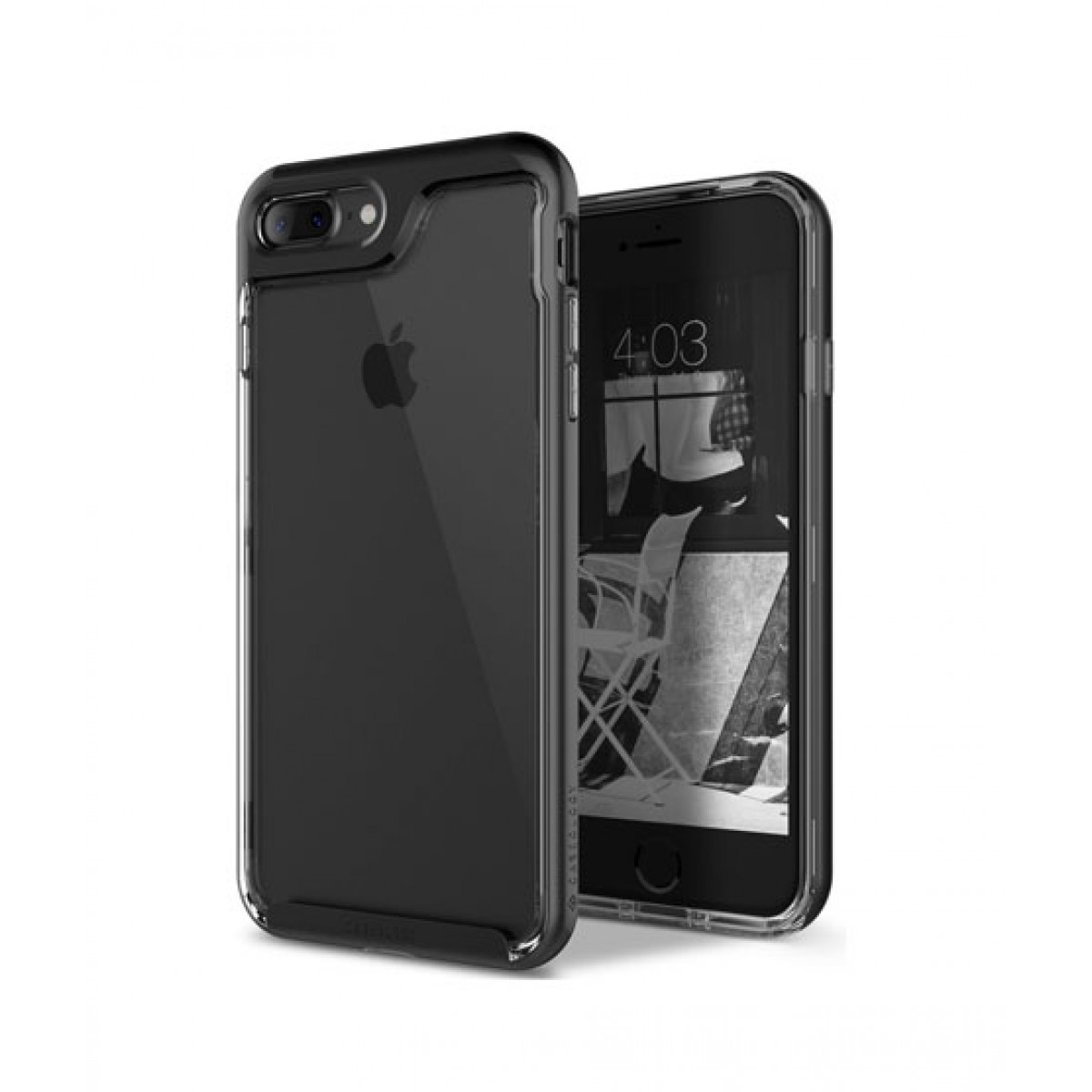 online retailer f2ca7 81a44 Caseology Skyfall Black Case For iPhone 8 Plus