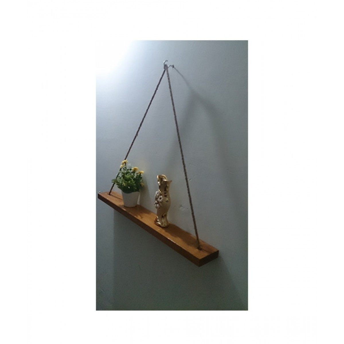 Snm Rope Hanging Wall Shelf Price In Pakistan Buy Snm Rope Hanging