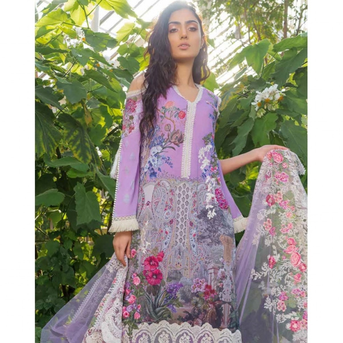 09d0557f5a Sobia Nazir Lawn Eid Collection 2019 3 Piece Price in Pakistan   Buy Sobia  Nazir Lawn Eid Collection 2019 3 Piece (SNL19-07A)   iShopping.pk