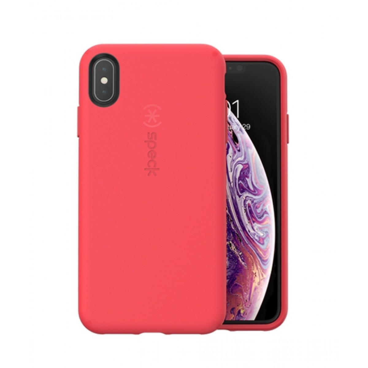 best website 01a2c 2dd70 Speck CandyShell Fit Mercury Red Case For iPhone XS Max