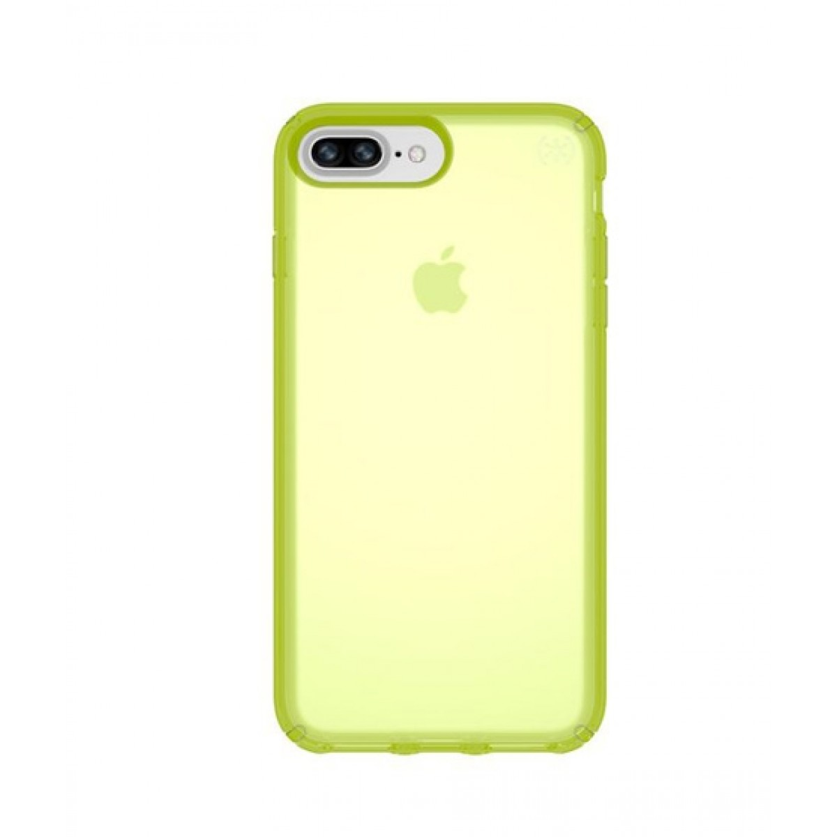 new style cb75a ff8a8 Speck Presidio Clear Neon Lightning Yellow Matte Case For iPhone 8 Plus