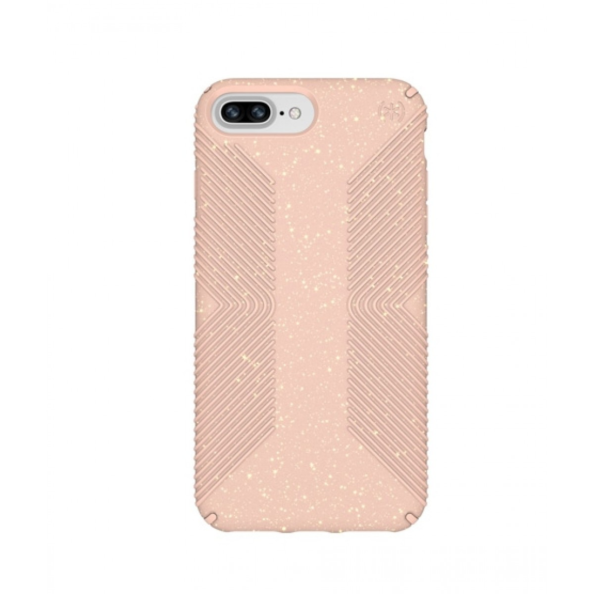 newest c49c5 8bd8f Speck Presidio Grip + Glitter Bella Pink/Gold Case For iPhone 8 Plus
