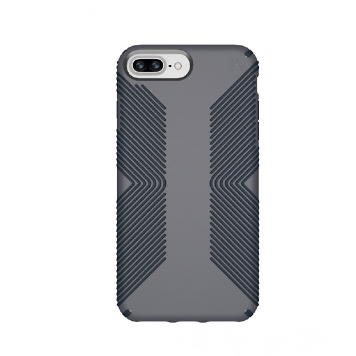 promo code 22231 58fa1 Speck Presidio Grip Graphite Grey/Charcoal Grey Case For iPhone 8 Plus