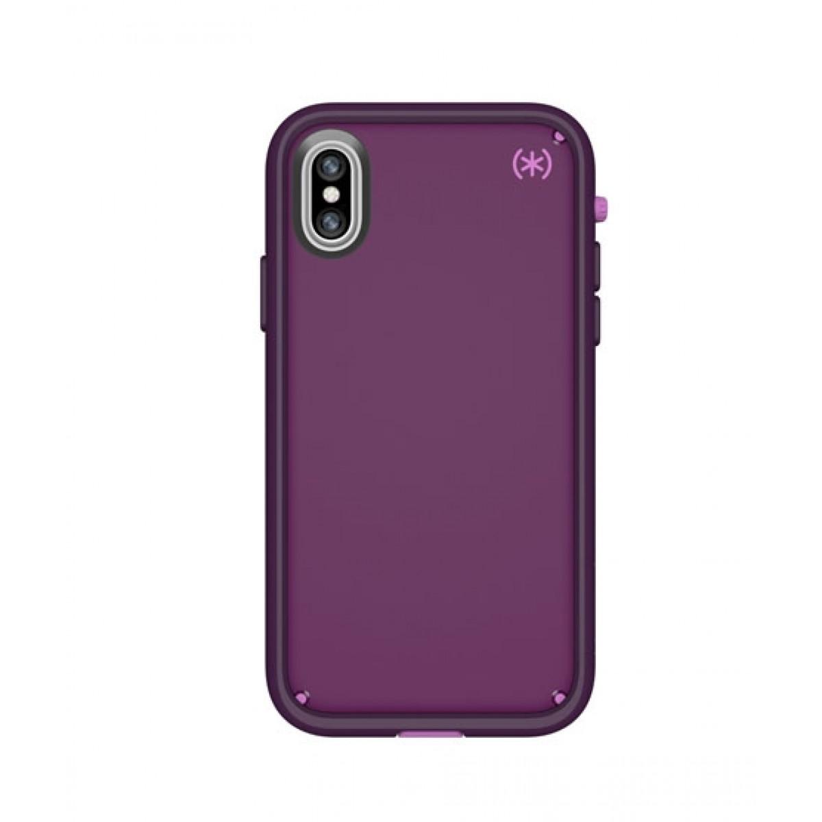 cheaper 3f0c5 3f782 Speck Presidio Ultra Purple/Pink Case For iPhone X/XS