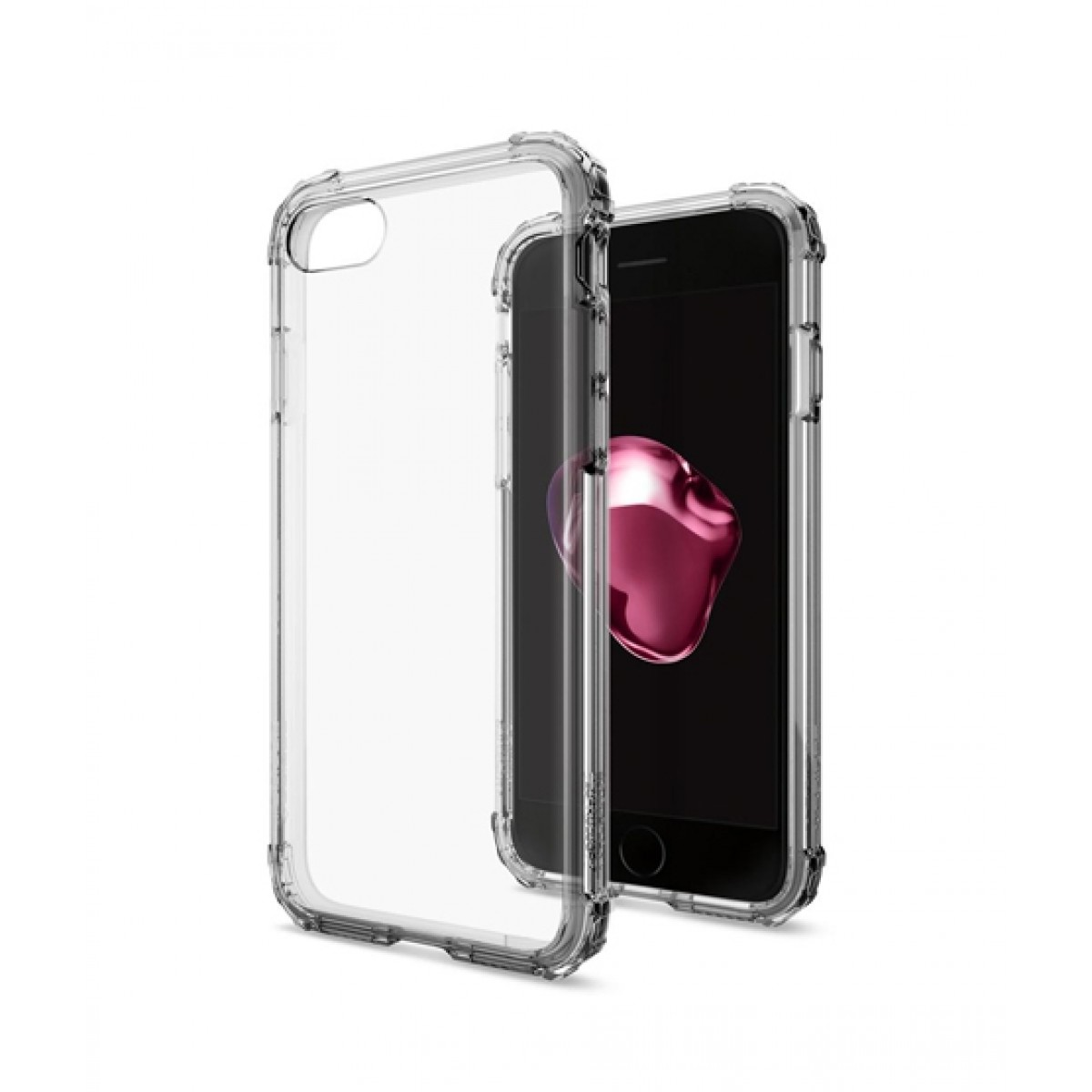 sports shoes 72332 05bcb Spigen Crystal Shell Dark Crystal Case For iPhone 8