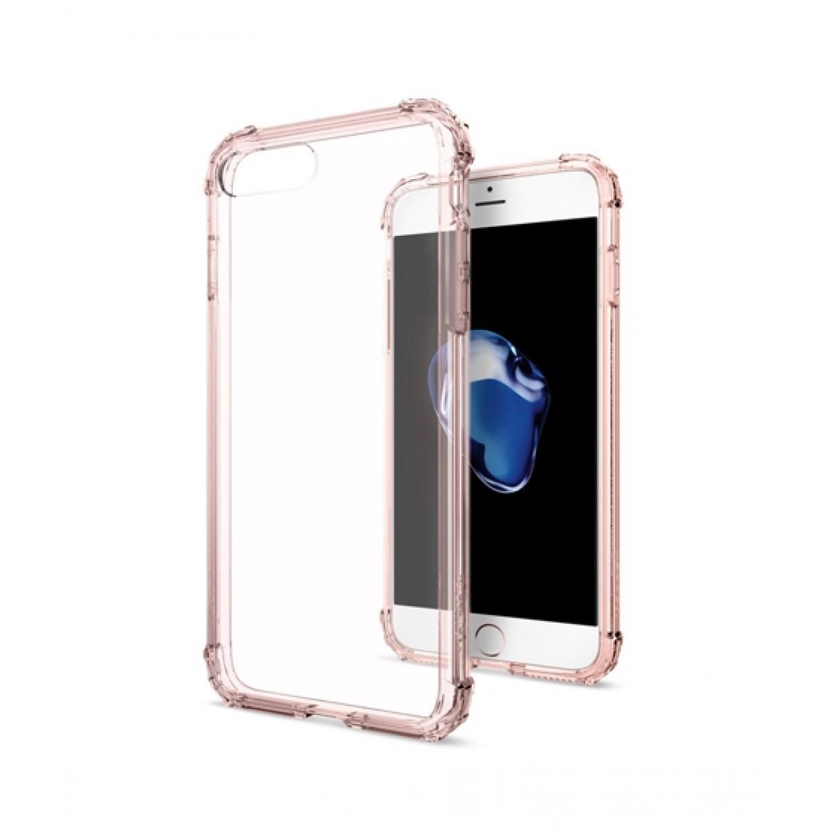 buy popular 71bcf 8e9e9 Spigen Crystal Shell Rose Case For iPhone 8 Plus