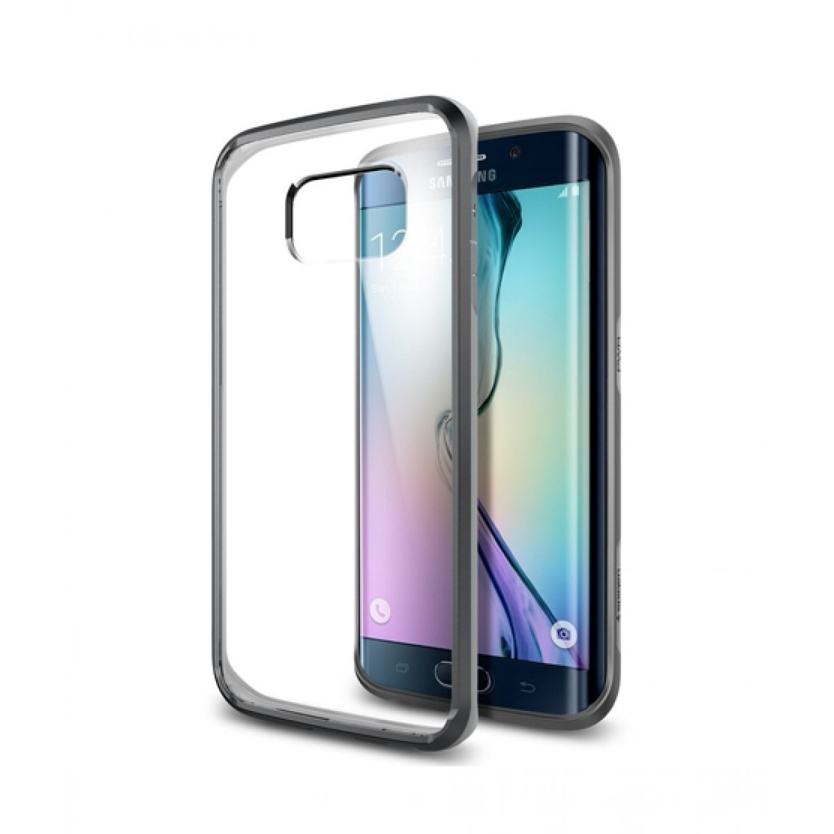 sale retailer 44b6c 53586 Spigen Hybrid Crystal Case For Galaxy S6 Edge (Space Crystal)