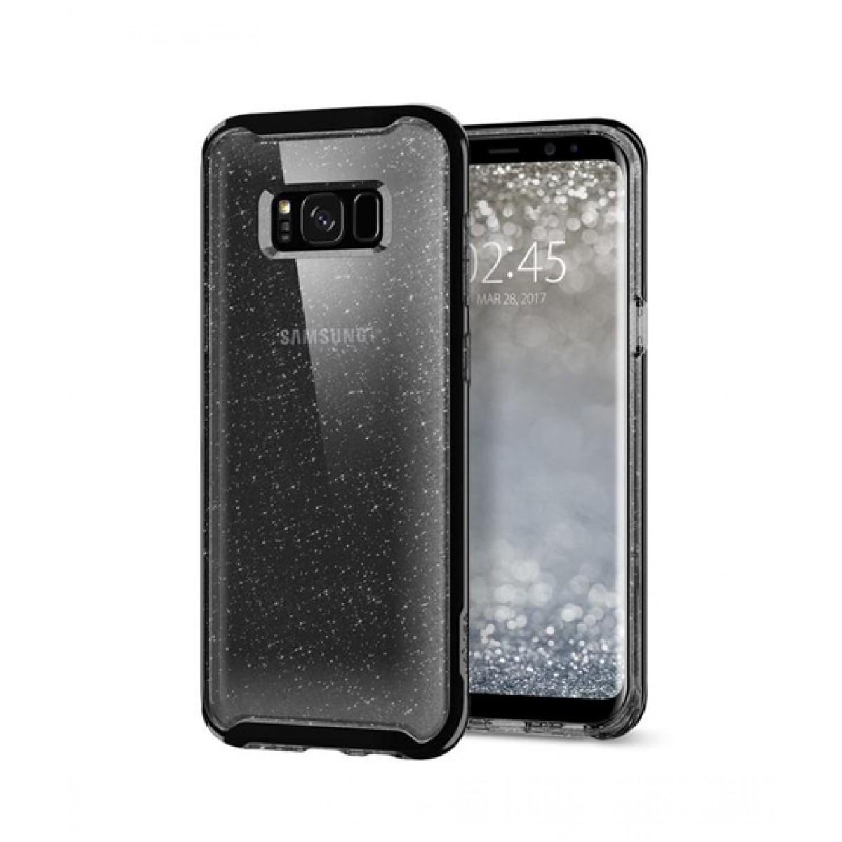 timeless design 59772 8eaac Spigen Neo Hybrid Crystal Glitter Space Quartz Case For Galaxy S8