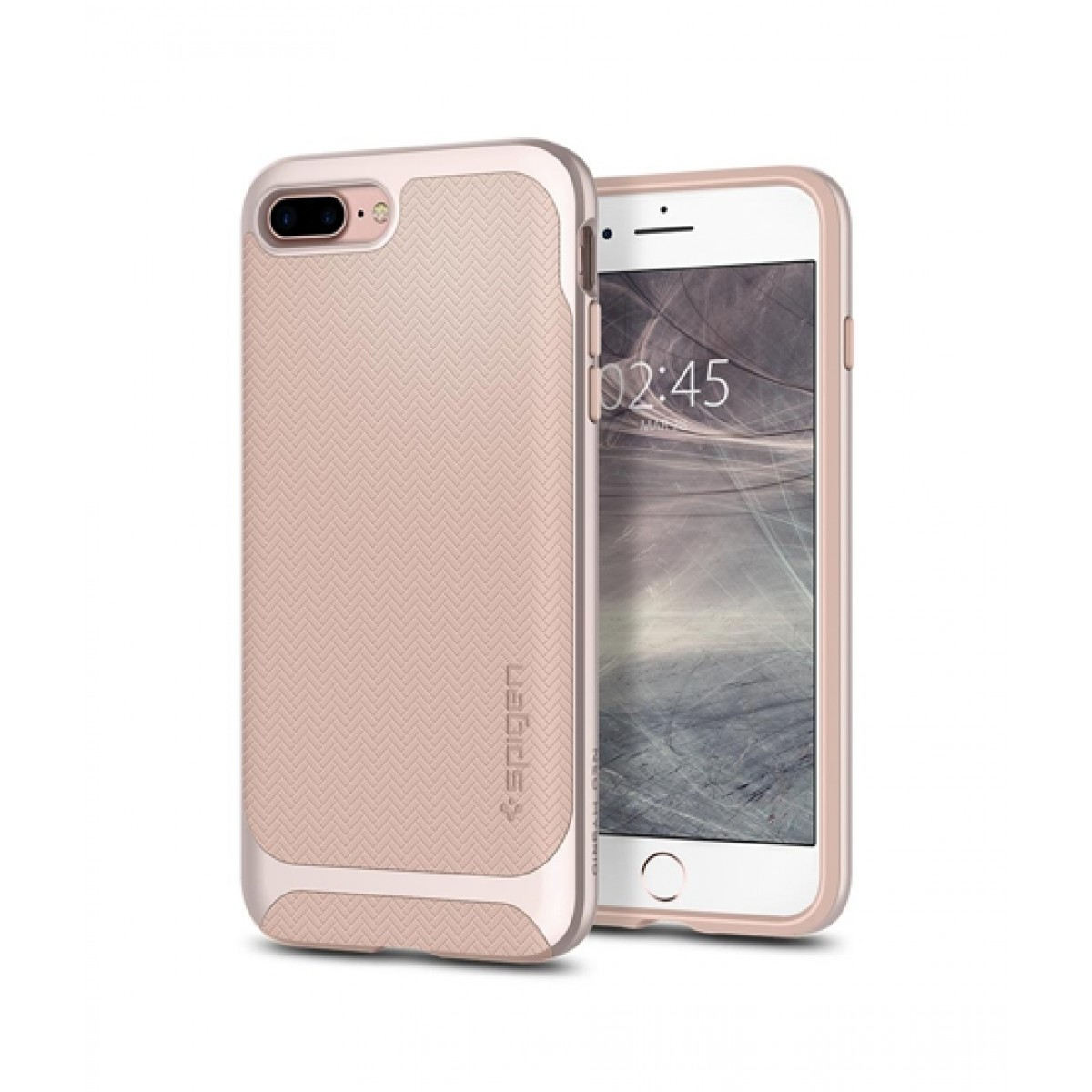the latest 97d5d 284f7 Spigen Neo Hybrid Herringbone Pale Dogwood Case For iPhone 8 Plus
