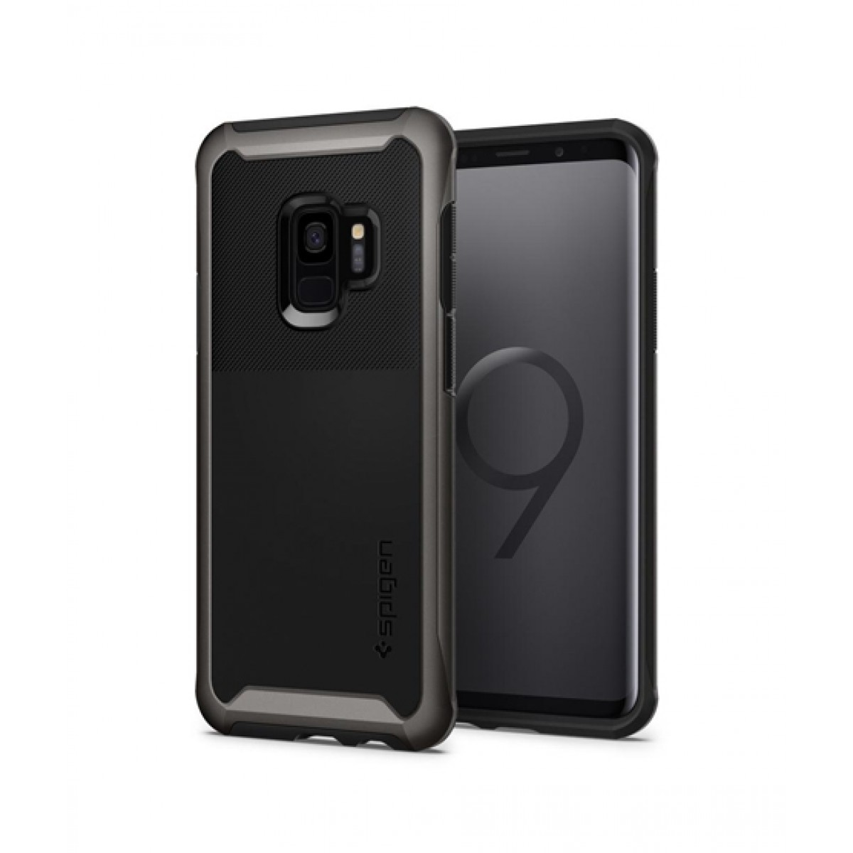 wholesale dealer d3bc4 738d3 Spigen Neo Hybrid Urban Gunmetal Case For Galaxy S9
