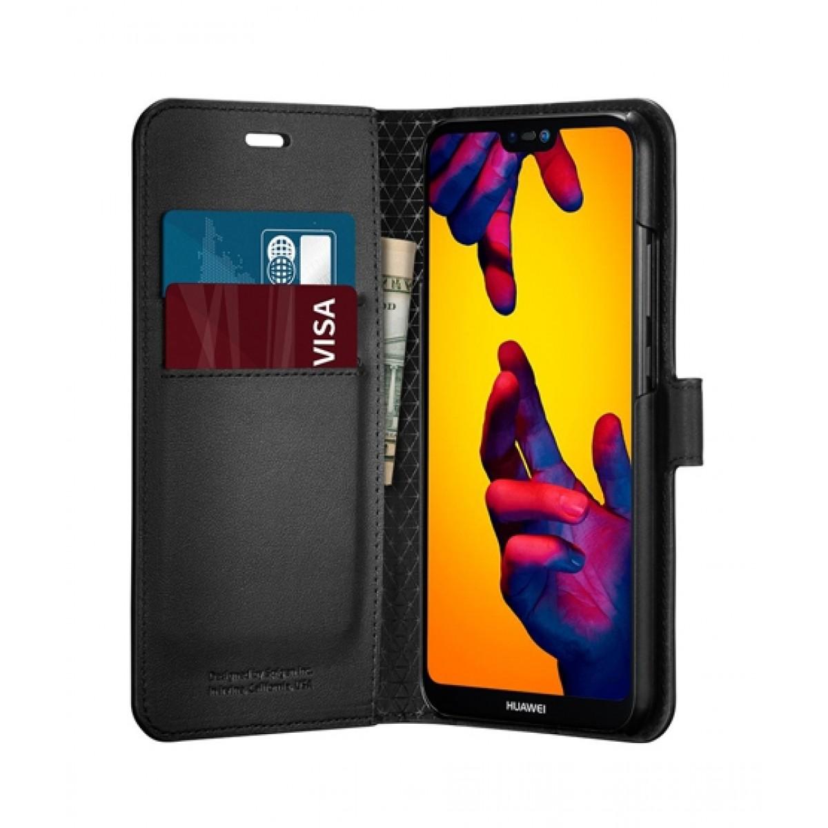 huge discount 309ac 10a99 Spigen Wallet S Clear Case For Huawei P20 Lite