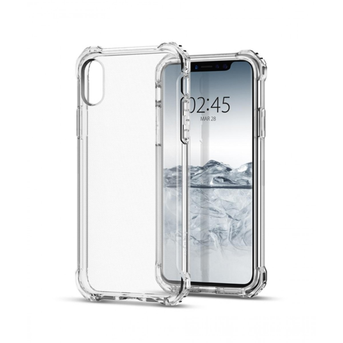 separation shoes 5d656 49459 Spigen Rugged Crystal Clear Case For iPhone X/XS