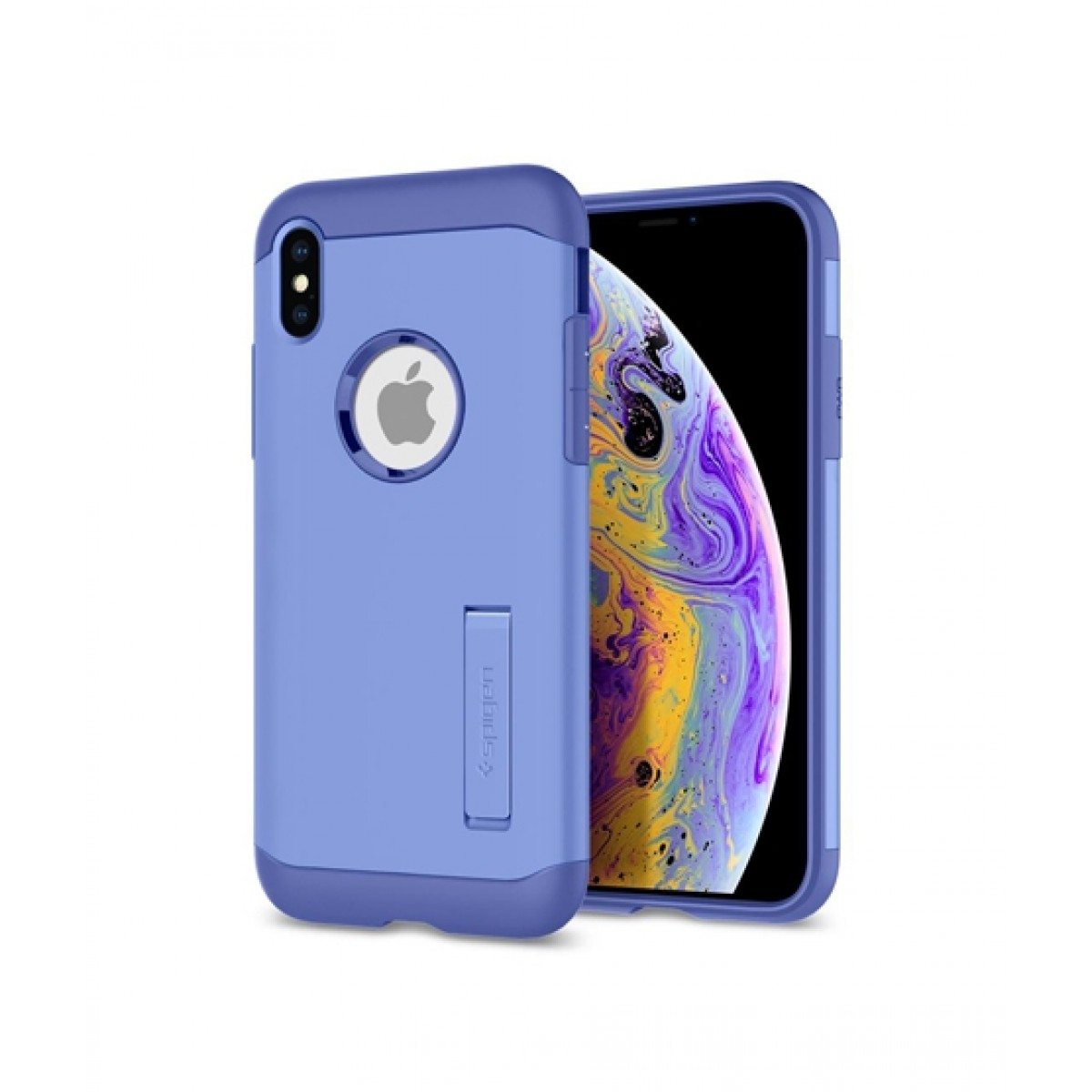 finest selection fa5d0 1f500 Spigen Slim Armor Violet Case For iPhone XS Max