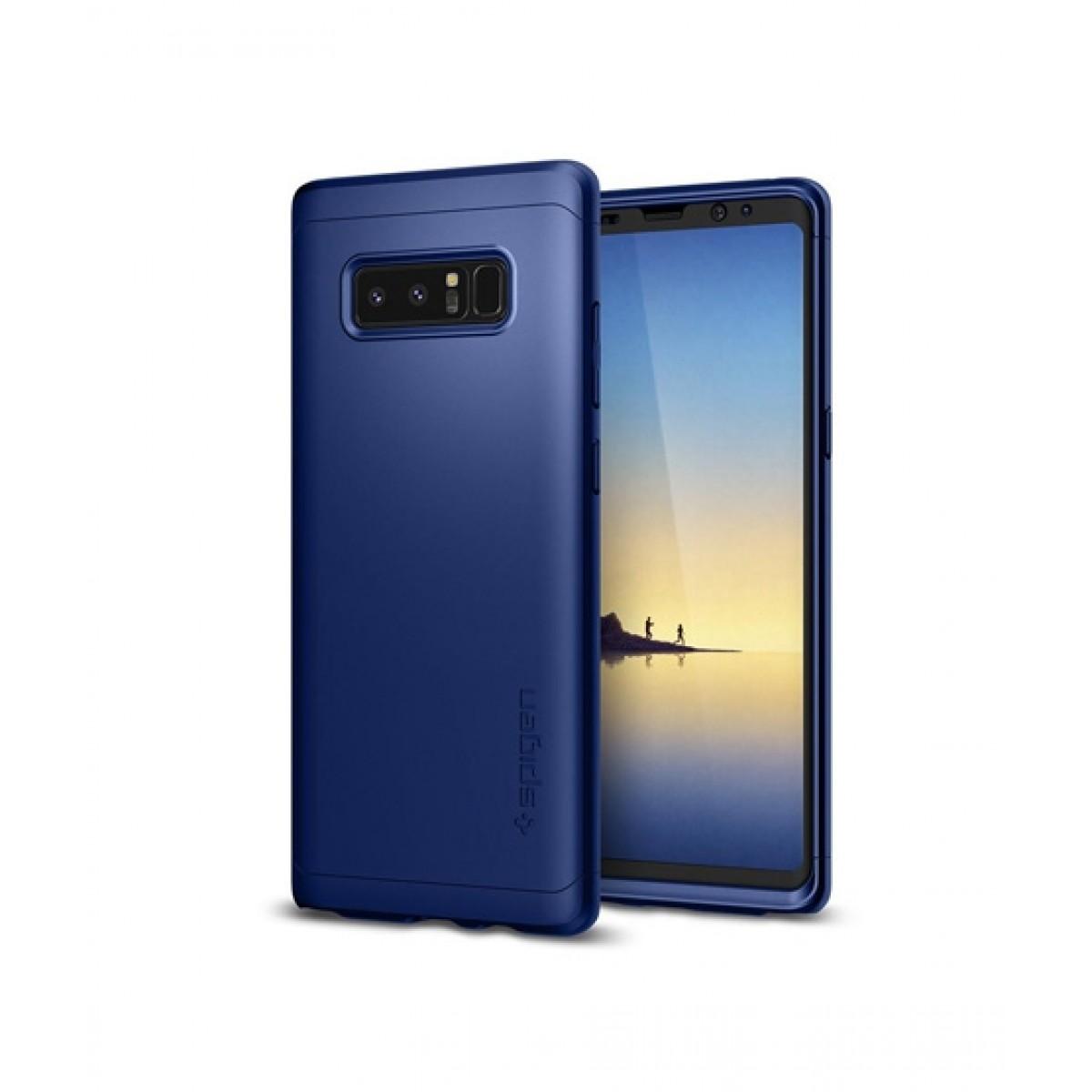 hot sale online abeee 79a89 Spigen Thin Fit 360 Deep Sea Blue Case For Galaxy Note 8