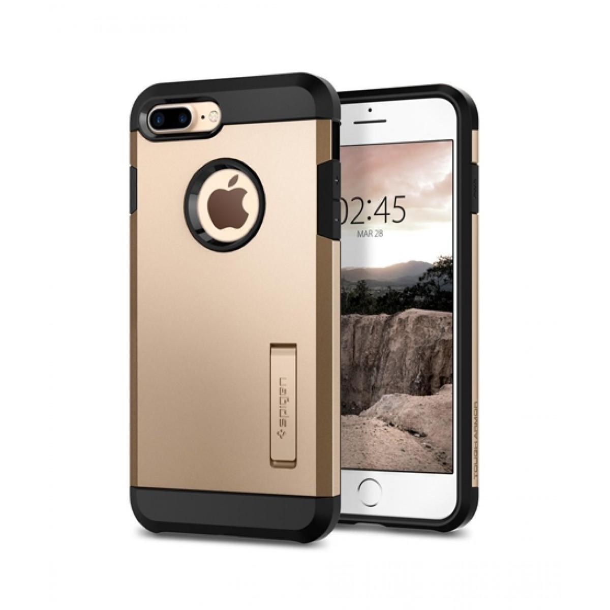 the latest d6beb 62576 Spigen Tough Armor 2 Champagne Gold Case For iPhone 8 Plus