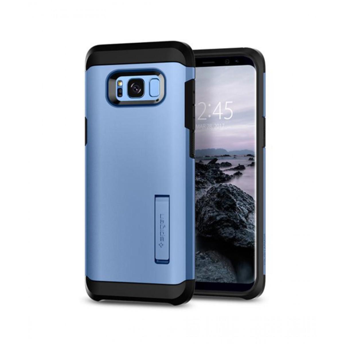 pretty nice e2f13 d059d Spigen Tough Armor Blue Coral Case For Galaxy S8