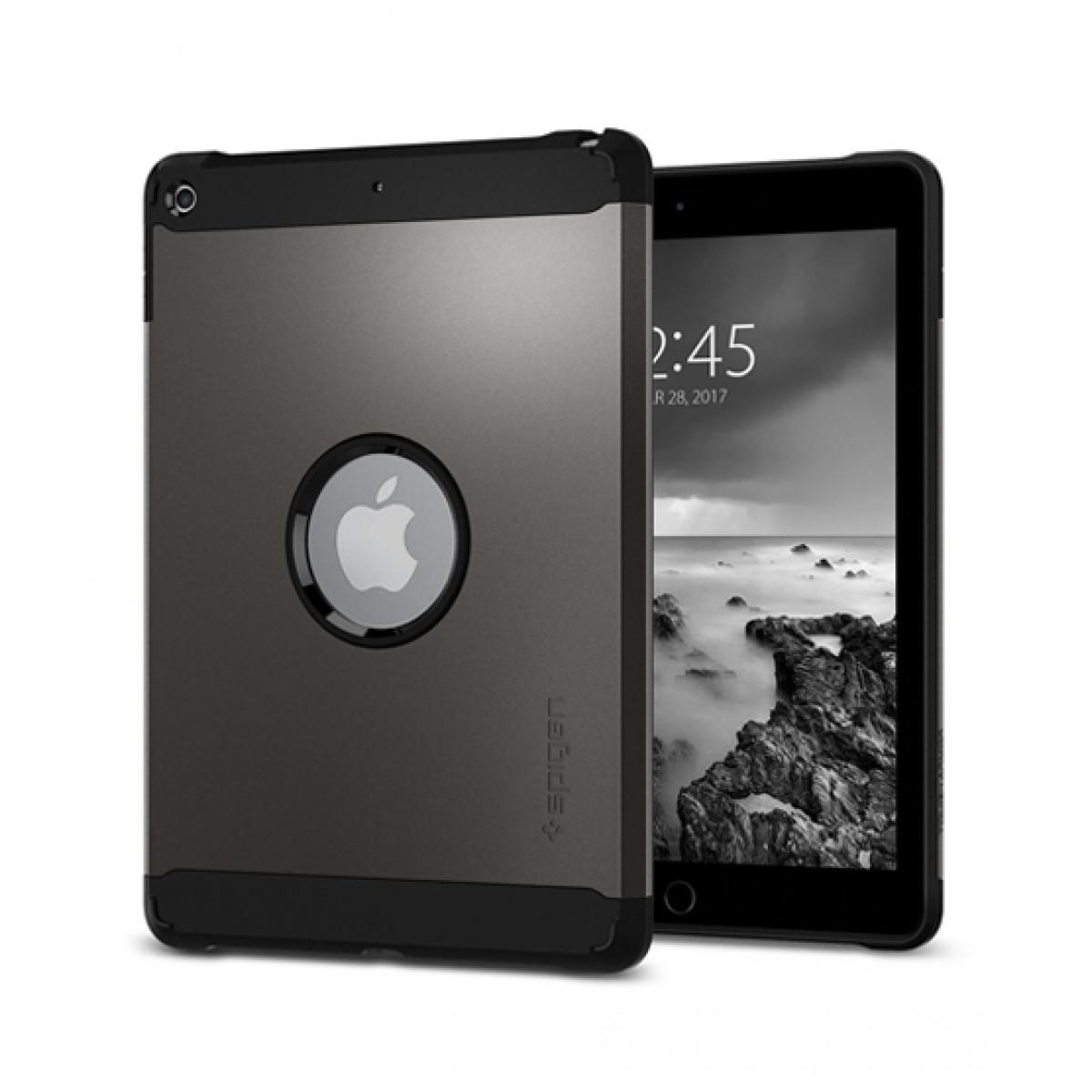 quality design 563eb da010 Spigen Tough Armor Gunmetal Case For iPad Pro 9.7