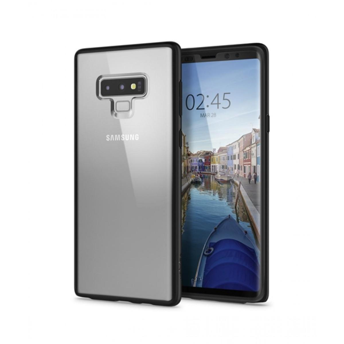 new concept 0aef7 384ea Spigen Ultra Hybrid 360 Mate Black Case For Galaxy Note 9