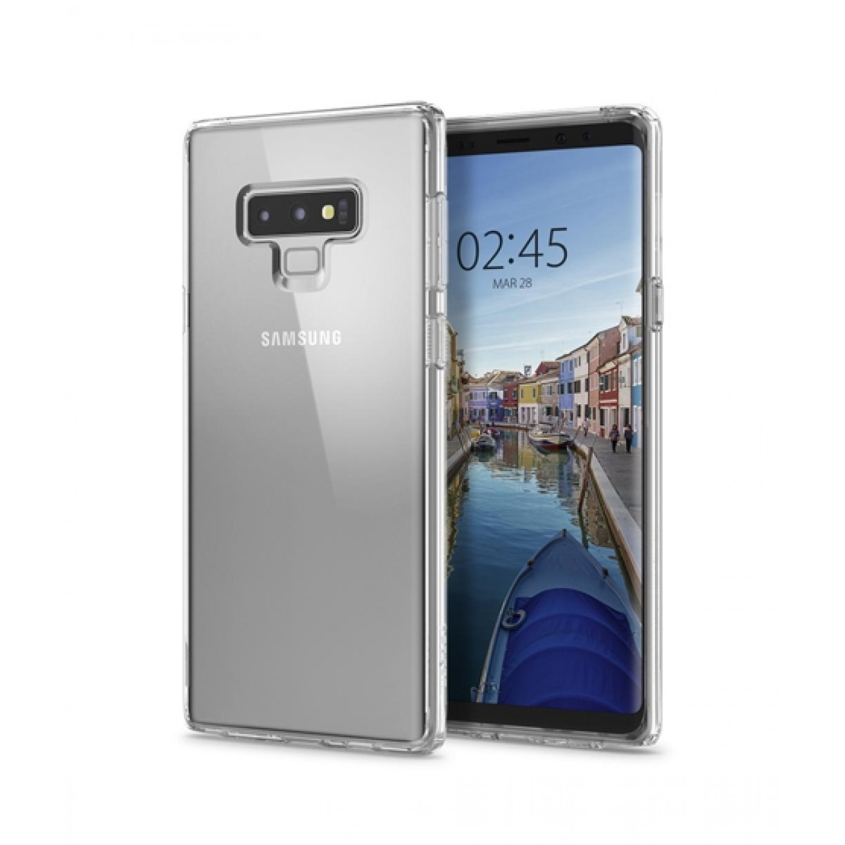 quality design 30ebf 95c75 Spigen Ultra Hybrid Crystal Clear Case For Galaxy Note 9