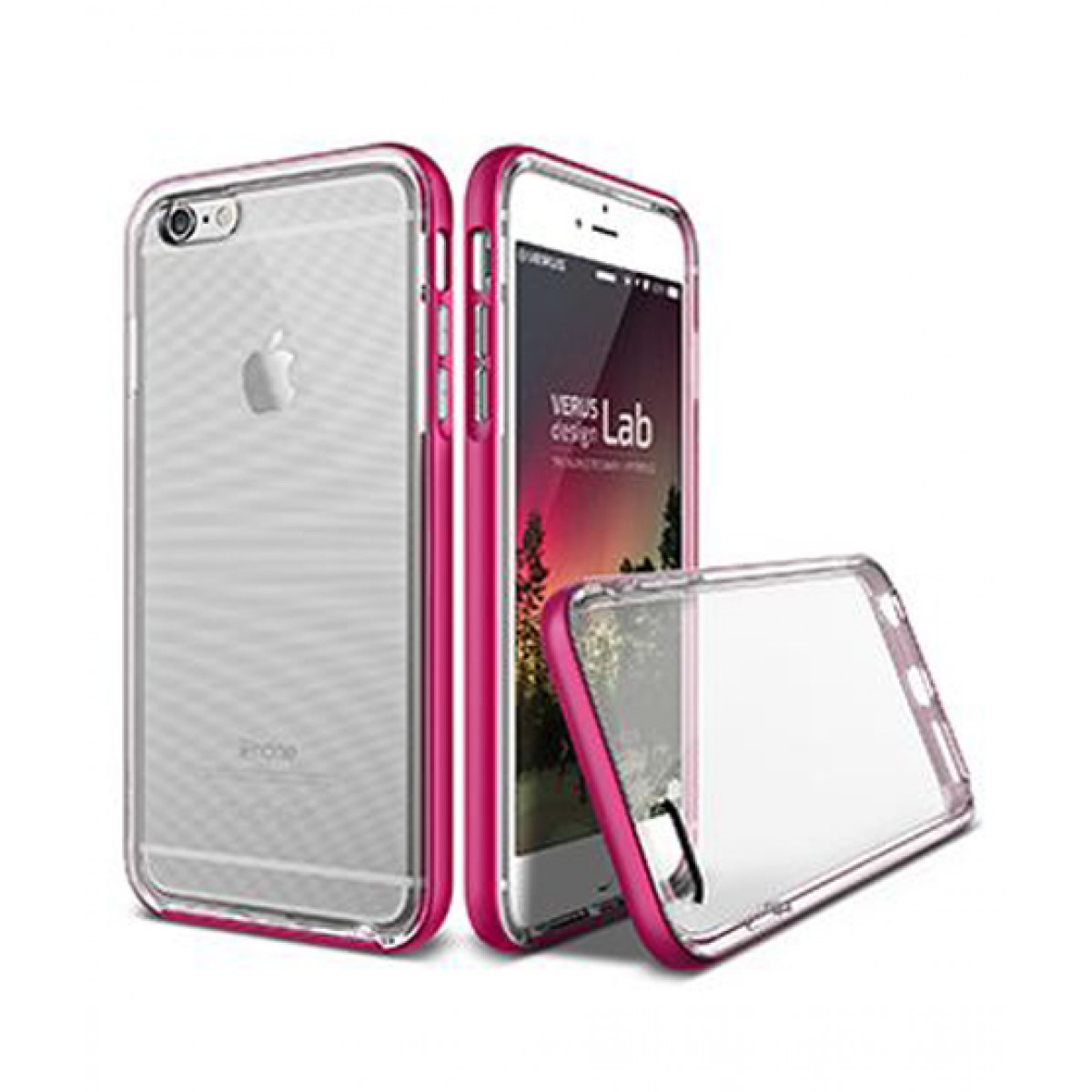info for 43e8b b3a9e Verus Crystal Bumper Pink Case for iPhone 6/6s
