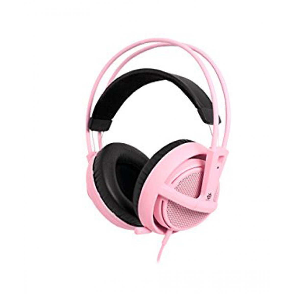 SteelSeries Siberia V2 Over-Ear Gaming Headset Pink