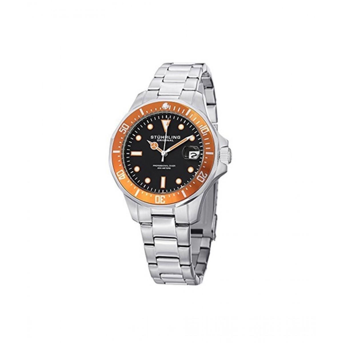 9ba69a7fb Stuhrling Original Aquadiver 664 Men's Watch Price in Pakistan | Buy  Stuhrling Original Men's Watch Silver (664.04) | iShopping.pk