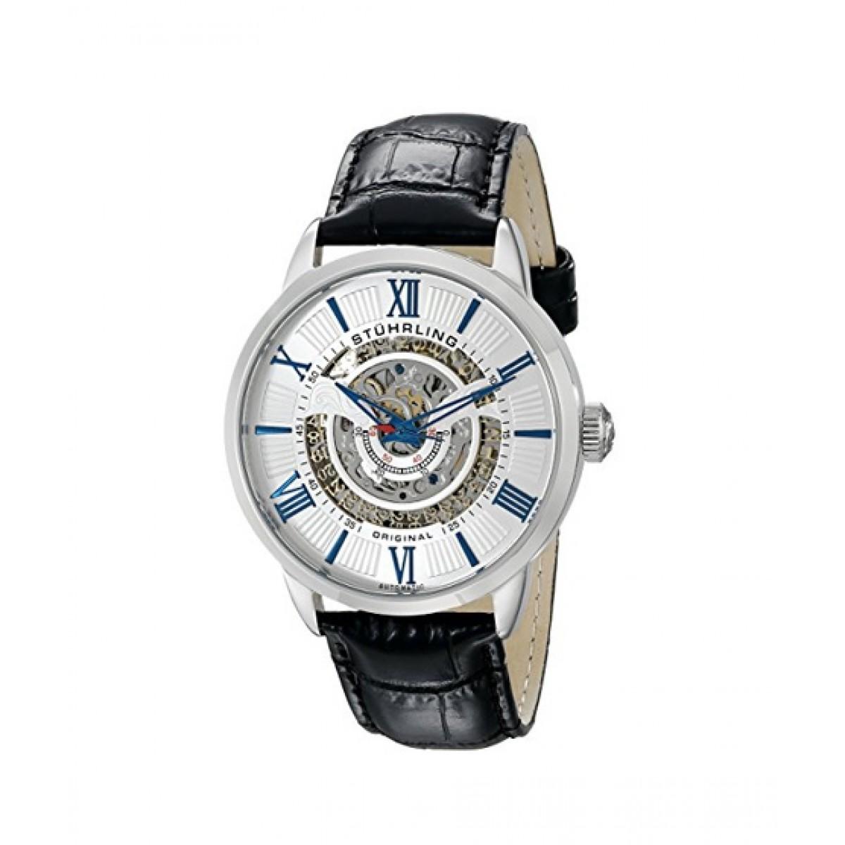 Stuhrling Original Delphi 696 Men's Watch Black (696.01)