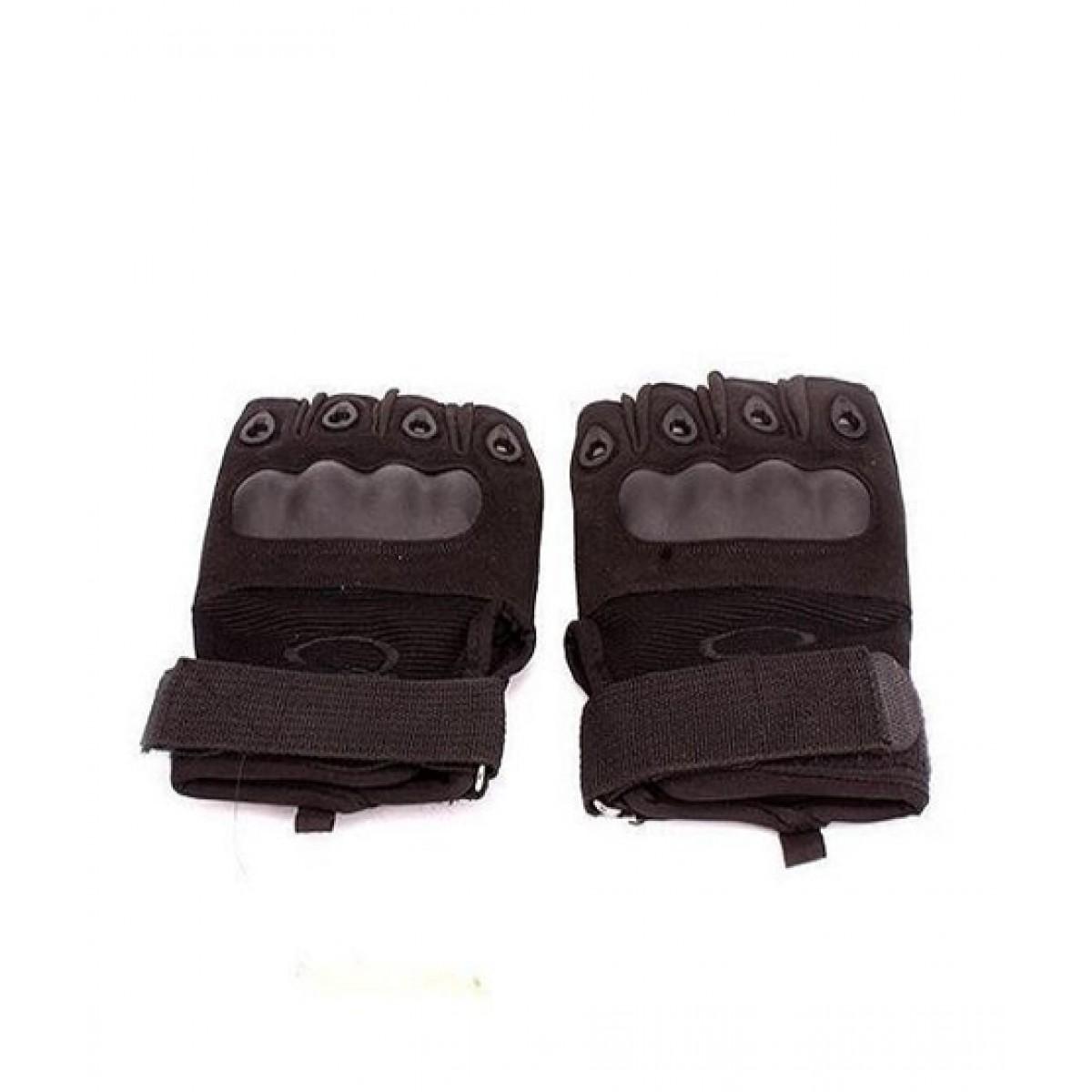 SYC Half Finger Tactical Hand Gloves Black