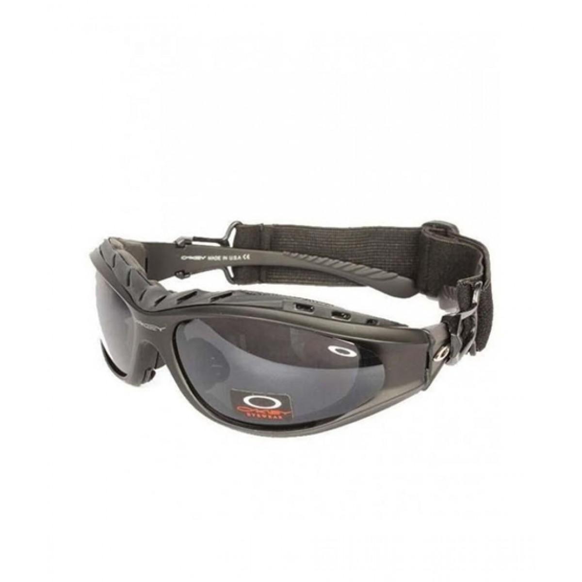 SYC Tactical Plastic Goggles Black