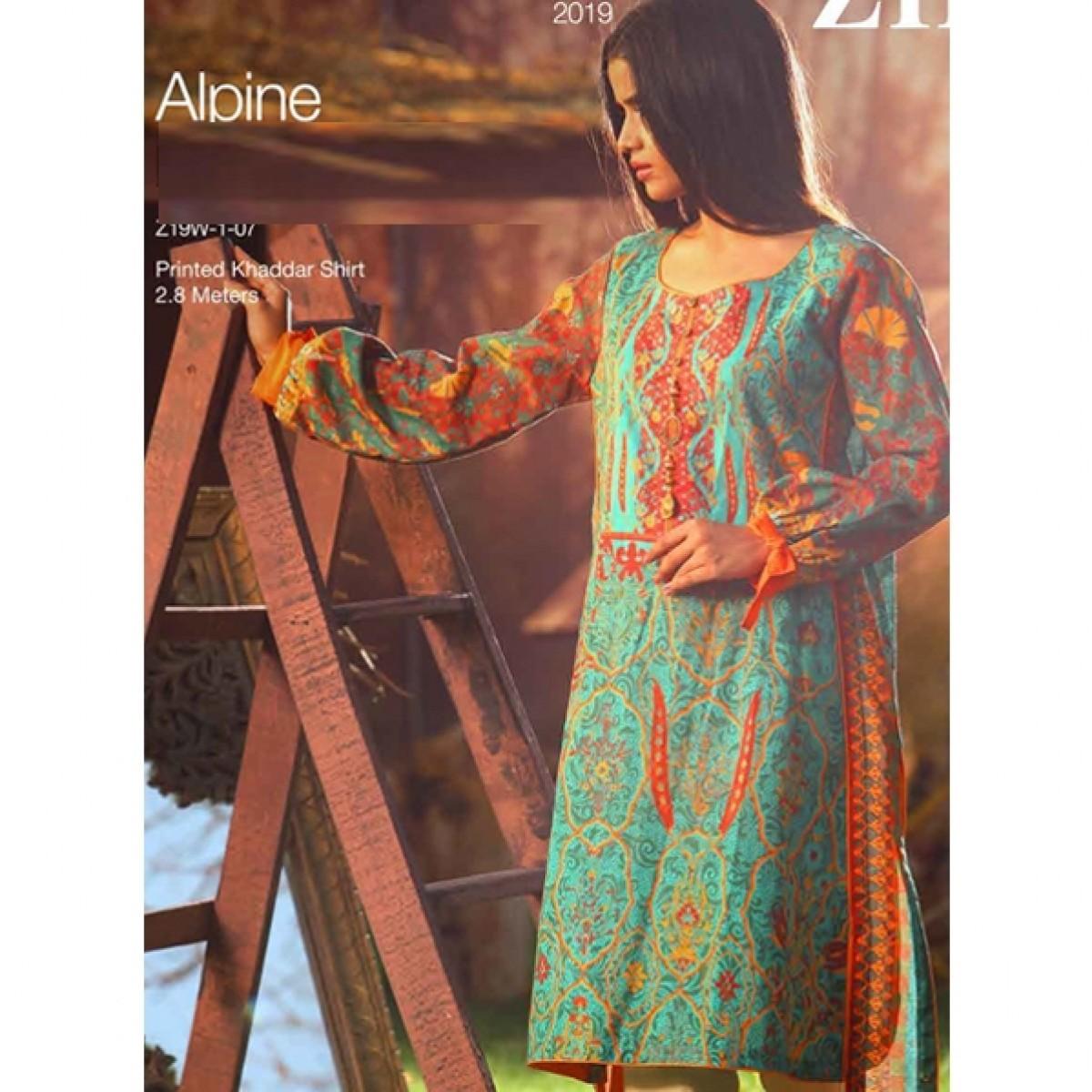 Tarzz Zyra Winter Collection 2019 1 Piece (Alpine)