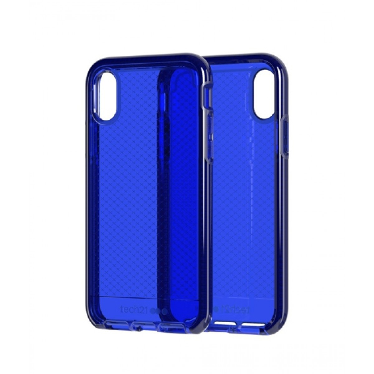 check out 9d1eb 68e7a Tech21 Evo Check Midnight Blue Case For iPhone XR