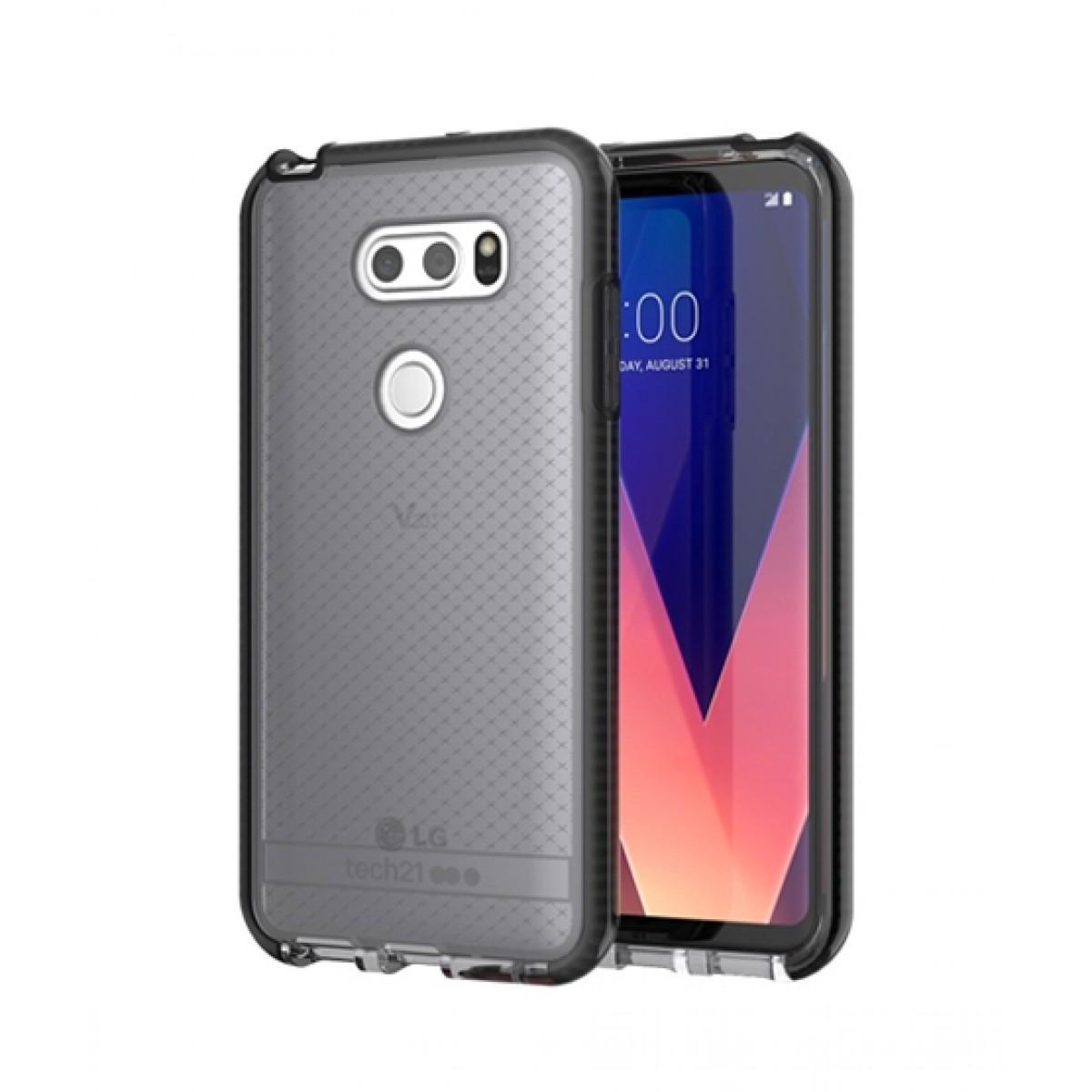 the latest c488b 58706 Tech21 Evo Check Smokey/Black Case For LG V30