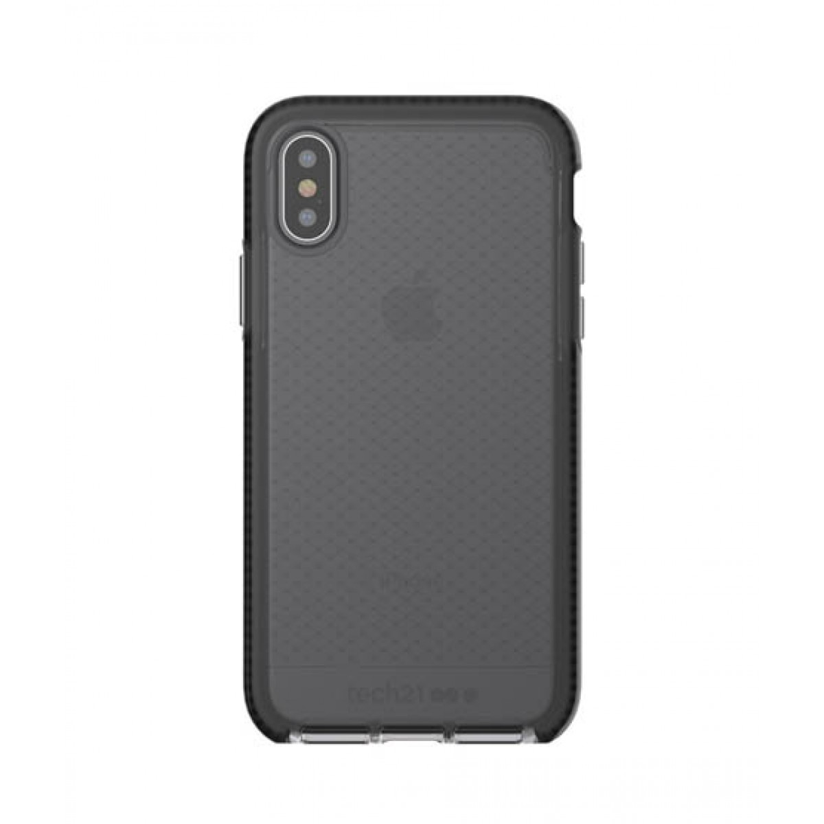 purchase cheap 07efa 25f5b Tech21 Evo Check Smokey/Black Case For iPhone X/XS