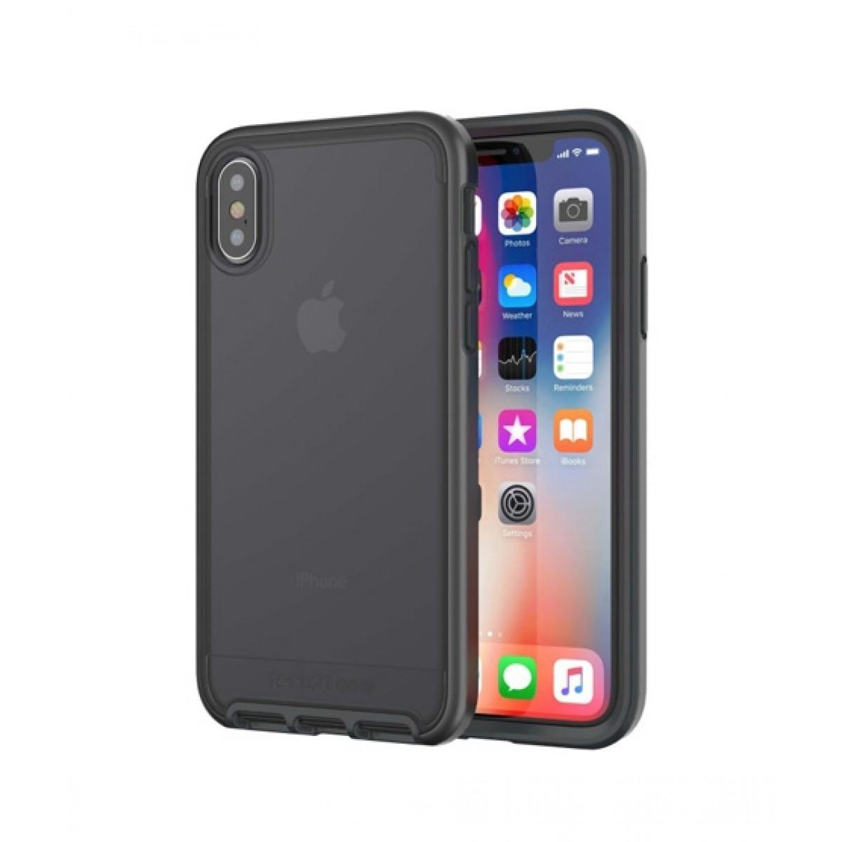 pretty nice a9c48 cf0a6 Tech21 Evo Elite Black Case for iPhone X/XS