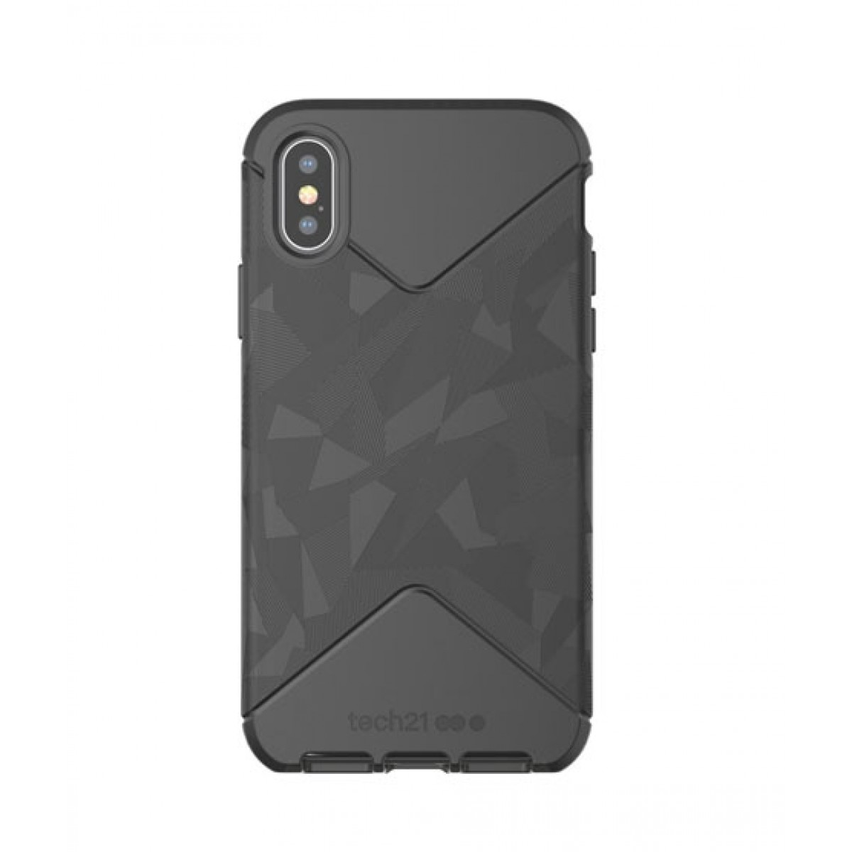 save off 51704 2061f Tech21 Evo Tactical Black Case For iPhone X/XS