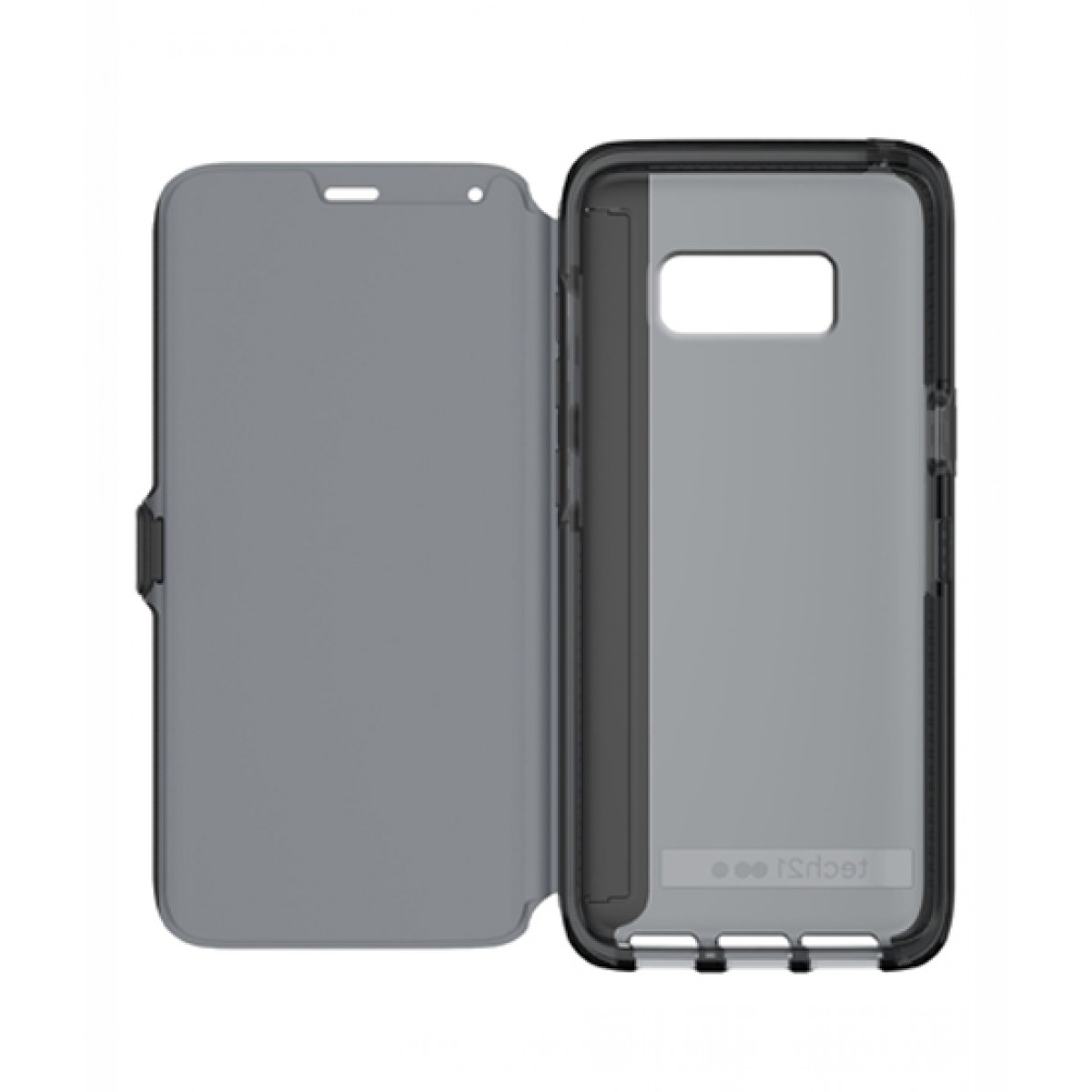 brand new 9d2ae 77197 Tech21 Evo Wallet Black Case For Galaxy S8