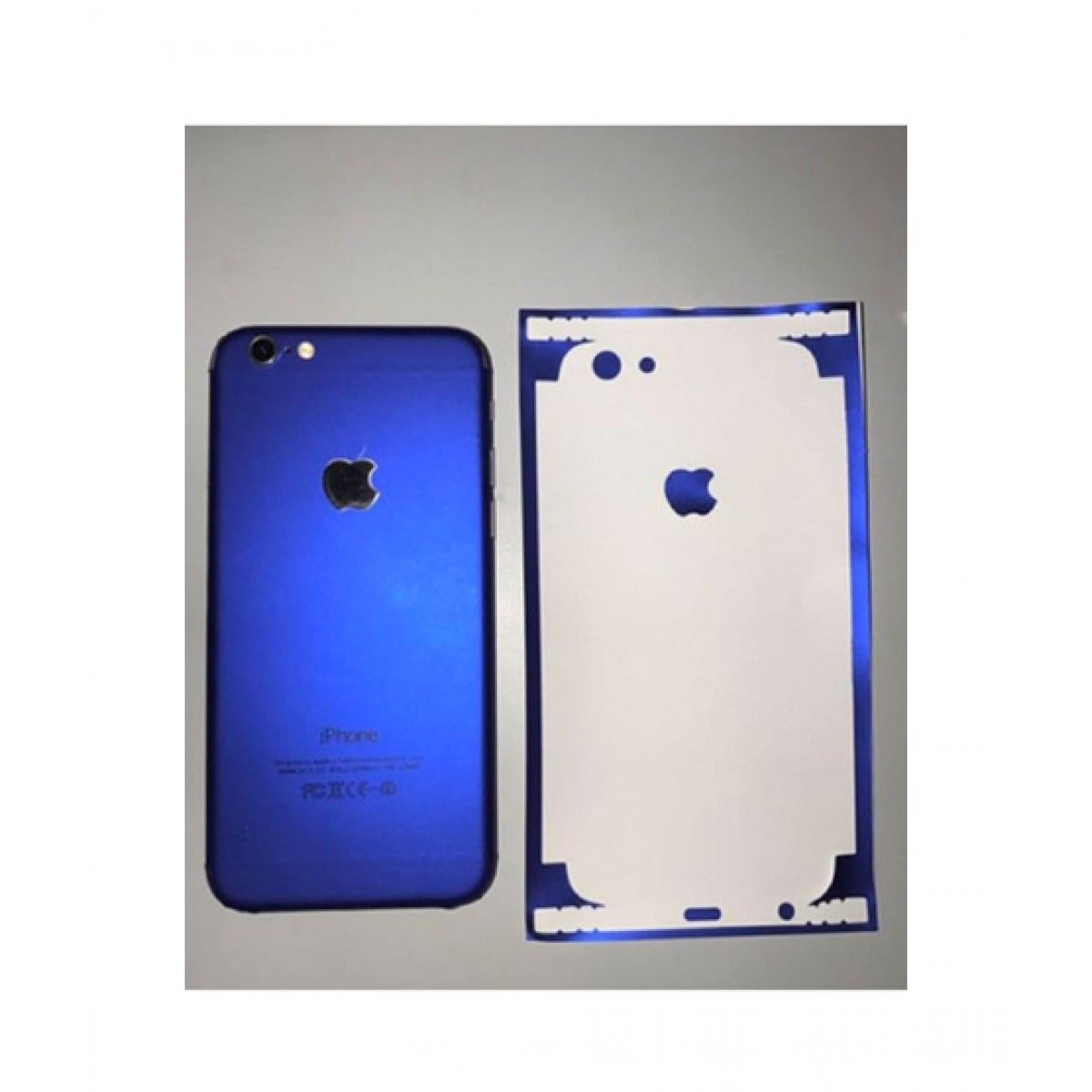 on sale be025 5da21 Techno Arena Plain Skin Blue Case For iPhone 6/6s