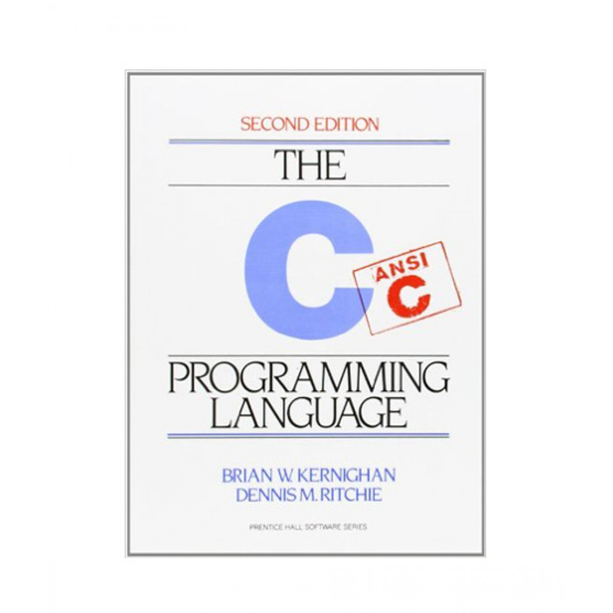 The C Programming Language Book 2nd Edition
