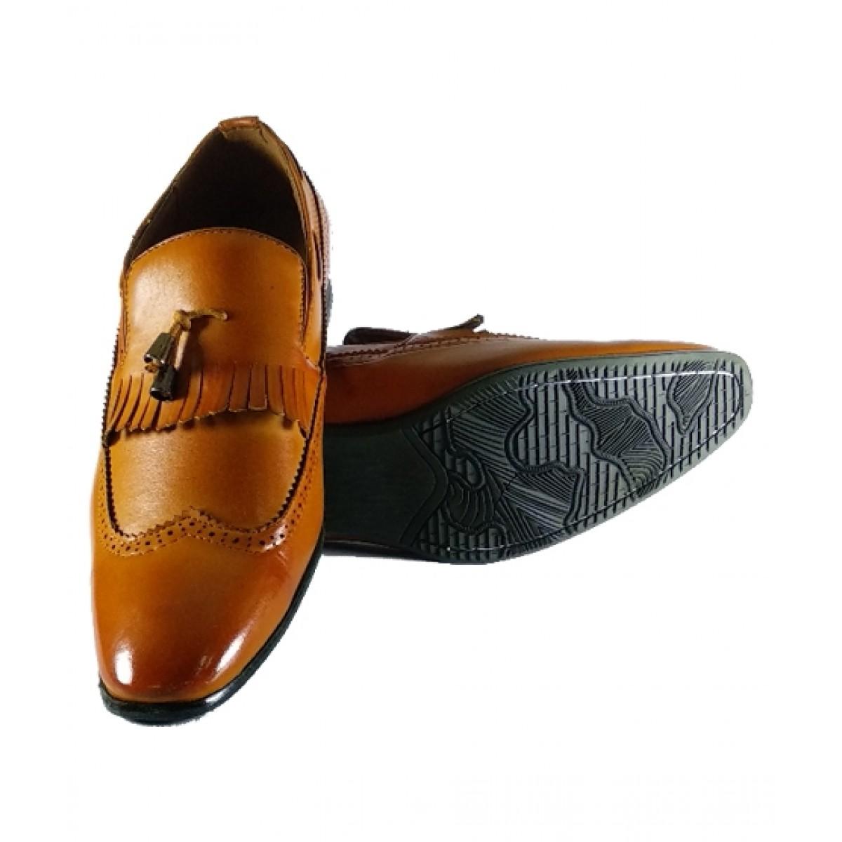 The Smart Shop Formal Shoes For Men Brown (0542)
